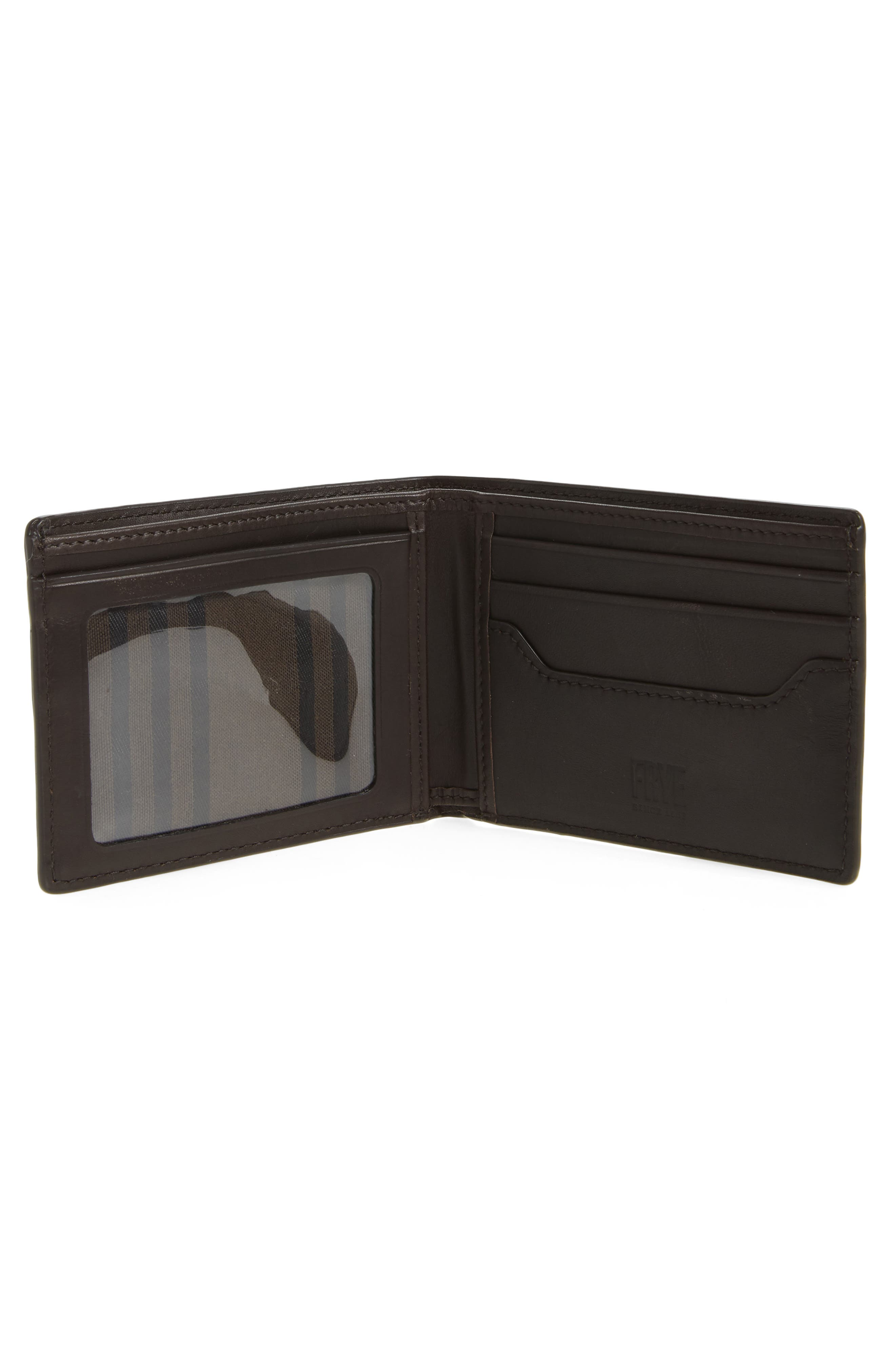 Logan Leather Wallet,                             Alternate thumbnail 2, color,                             SLATE