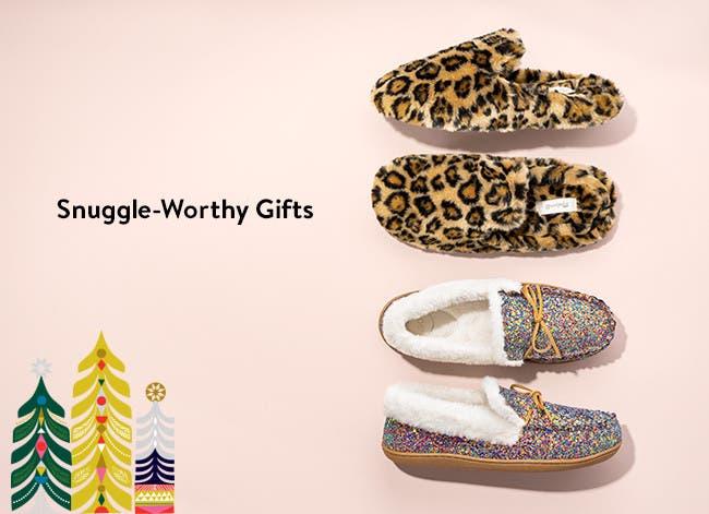 Snuggle-worthy gifts.
