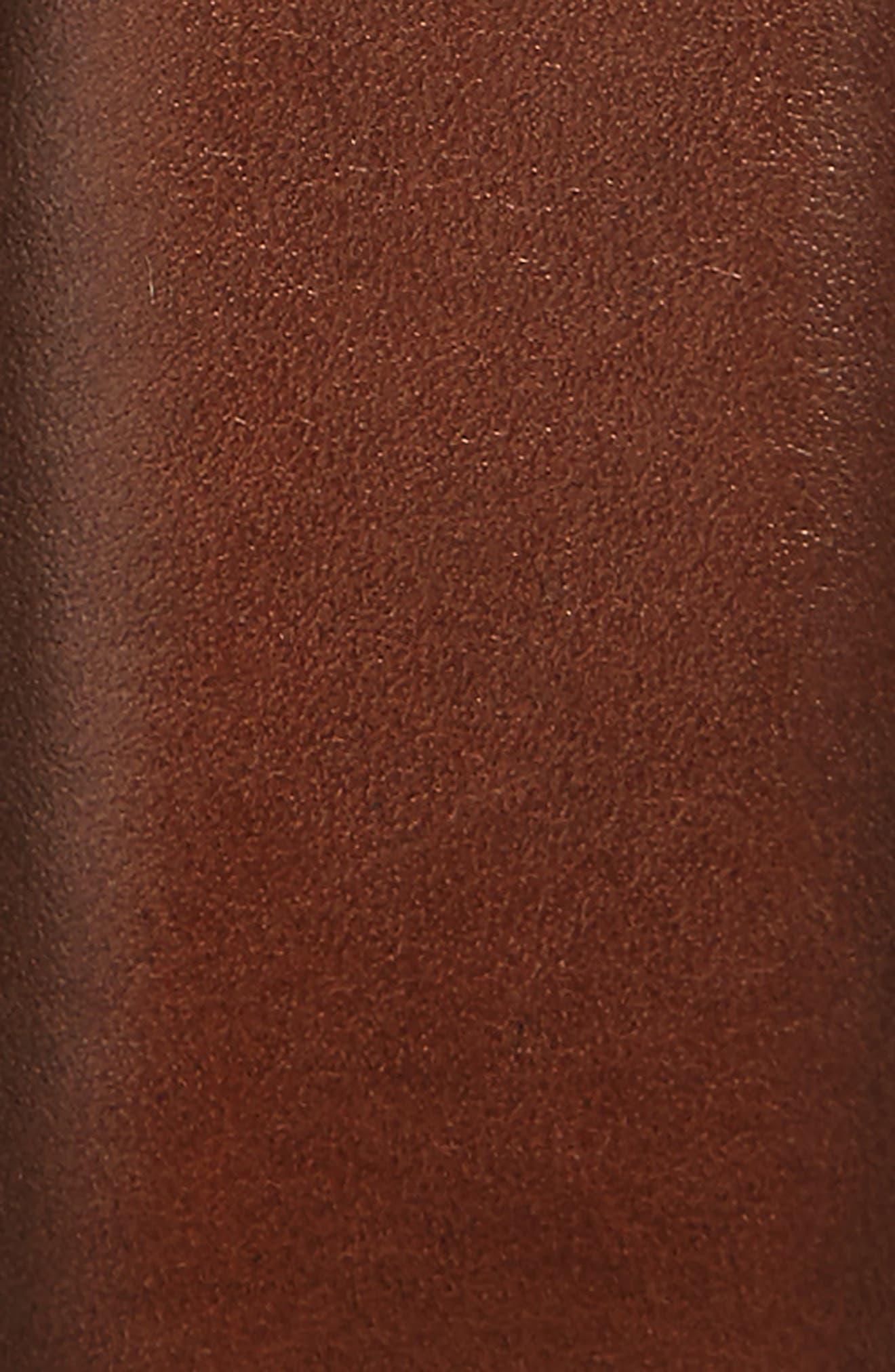 Parker Leather Belt,                             Alternate thumbnail 9, color,