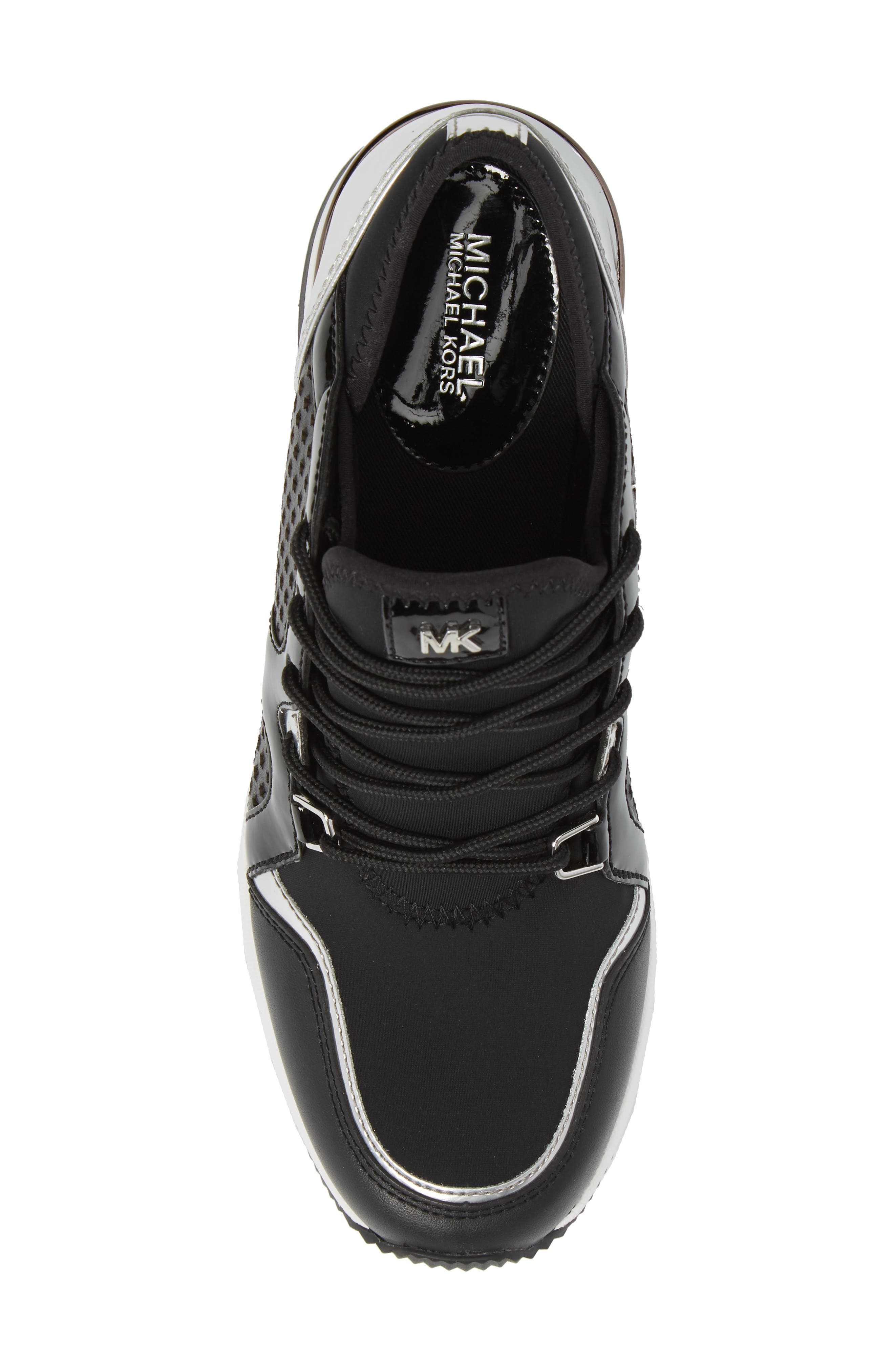Scout Wedge Sneaker,                             Alternate thumbnail 5, color,