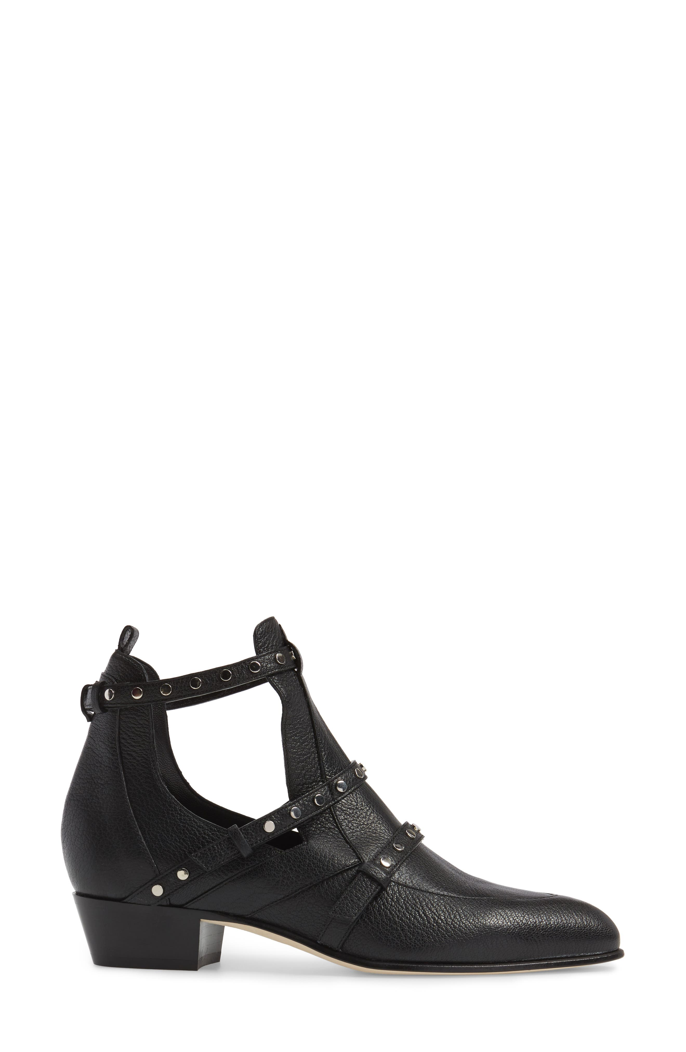 Harley Cutout Bootie,                             Alternate thumbnail 3, color,                             001
