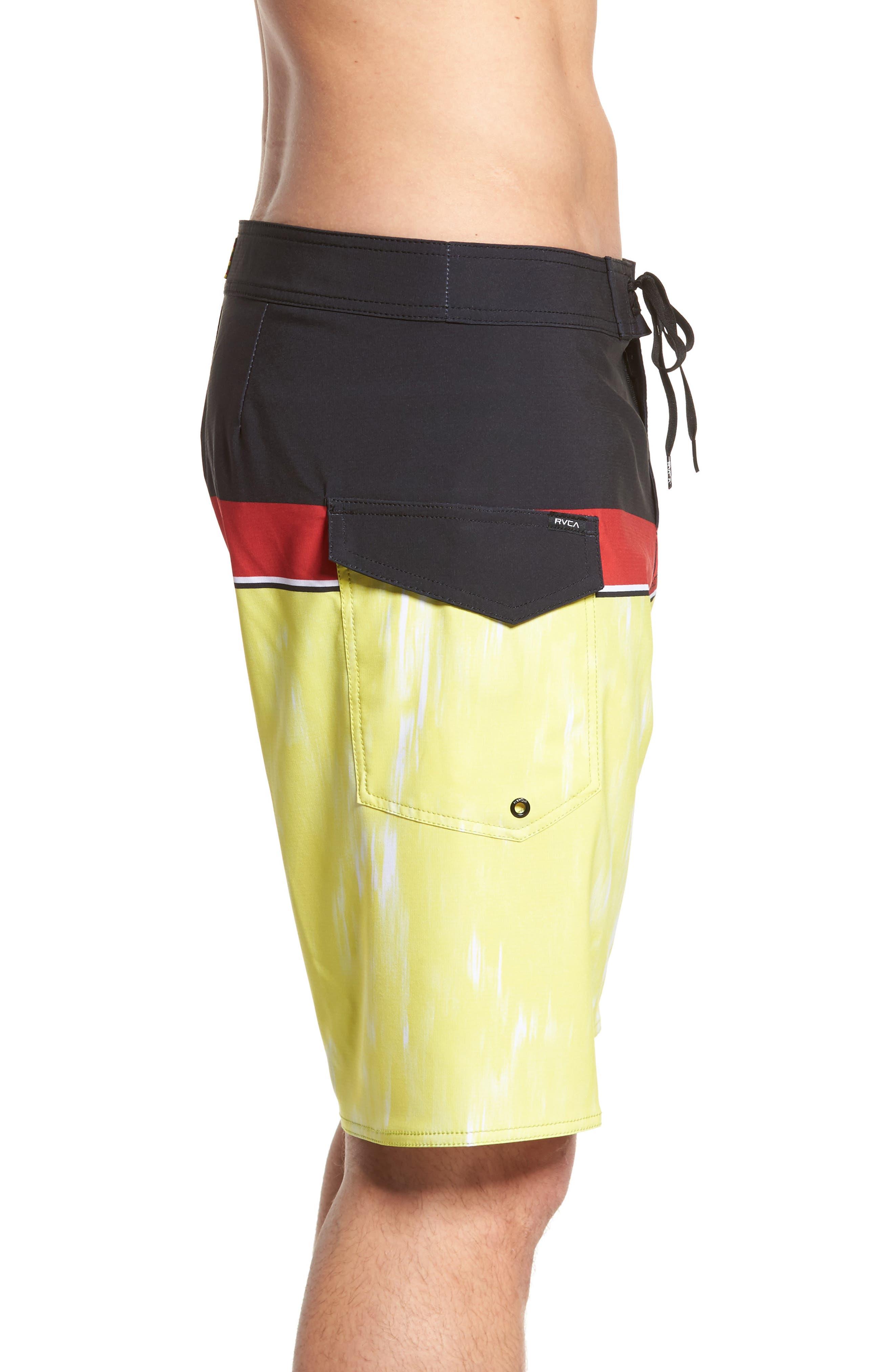 Makua Bolt Board Shorts,                             Alternate thumbnail 3, color,                             740