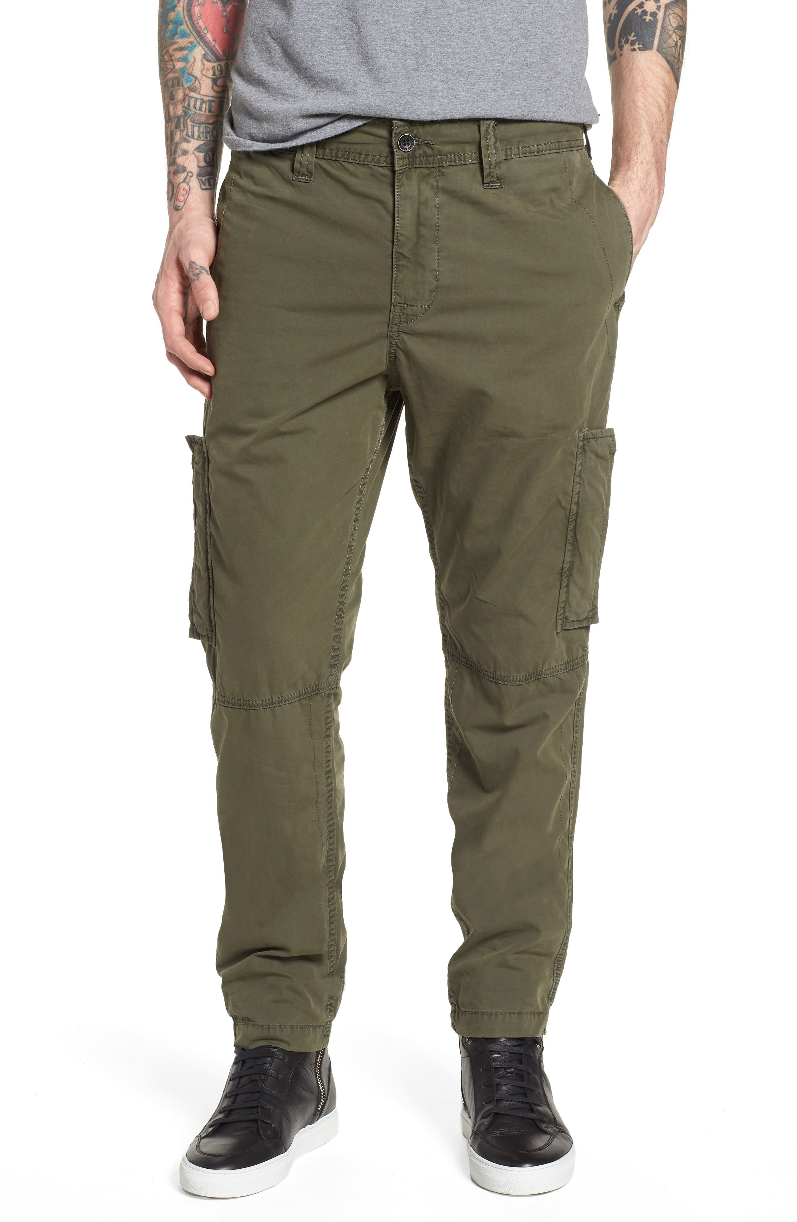 Officer Field Pants,                             Main thumbnail 1, color,                             EPJ MILITANT GREEN