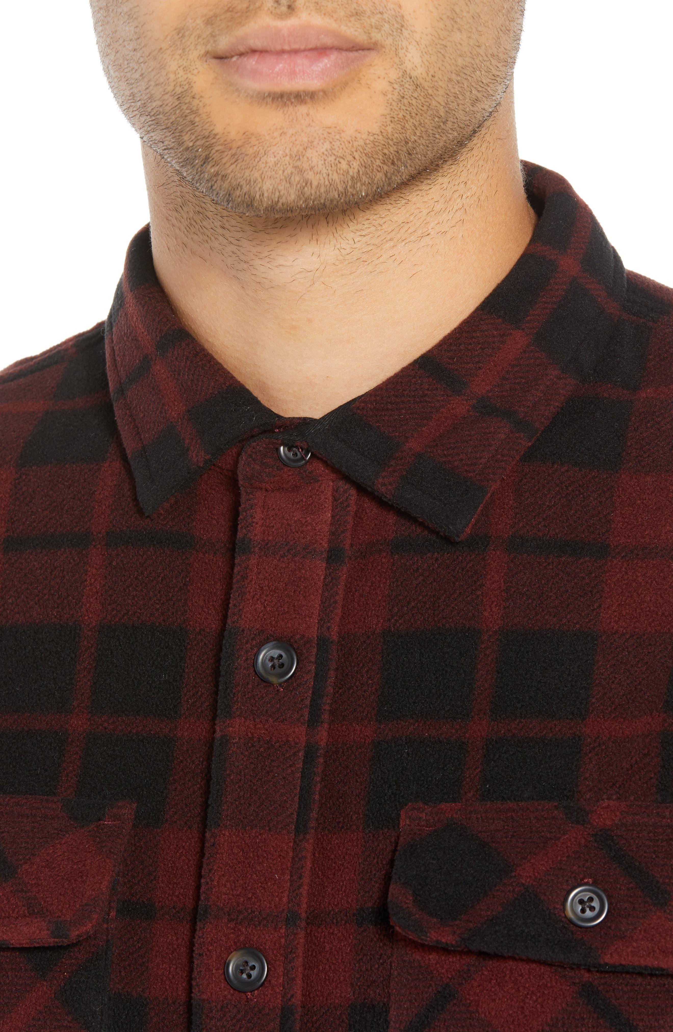 Hillcrest Fleece Shirt,                             Alternate thumbnail 4, color,                             930