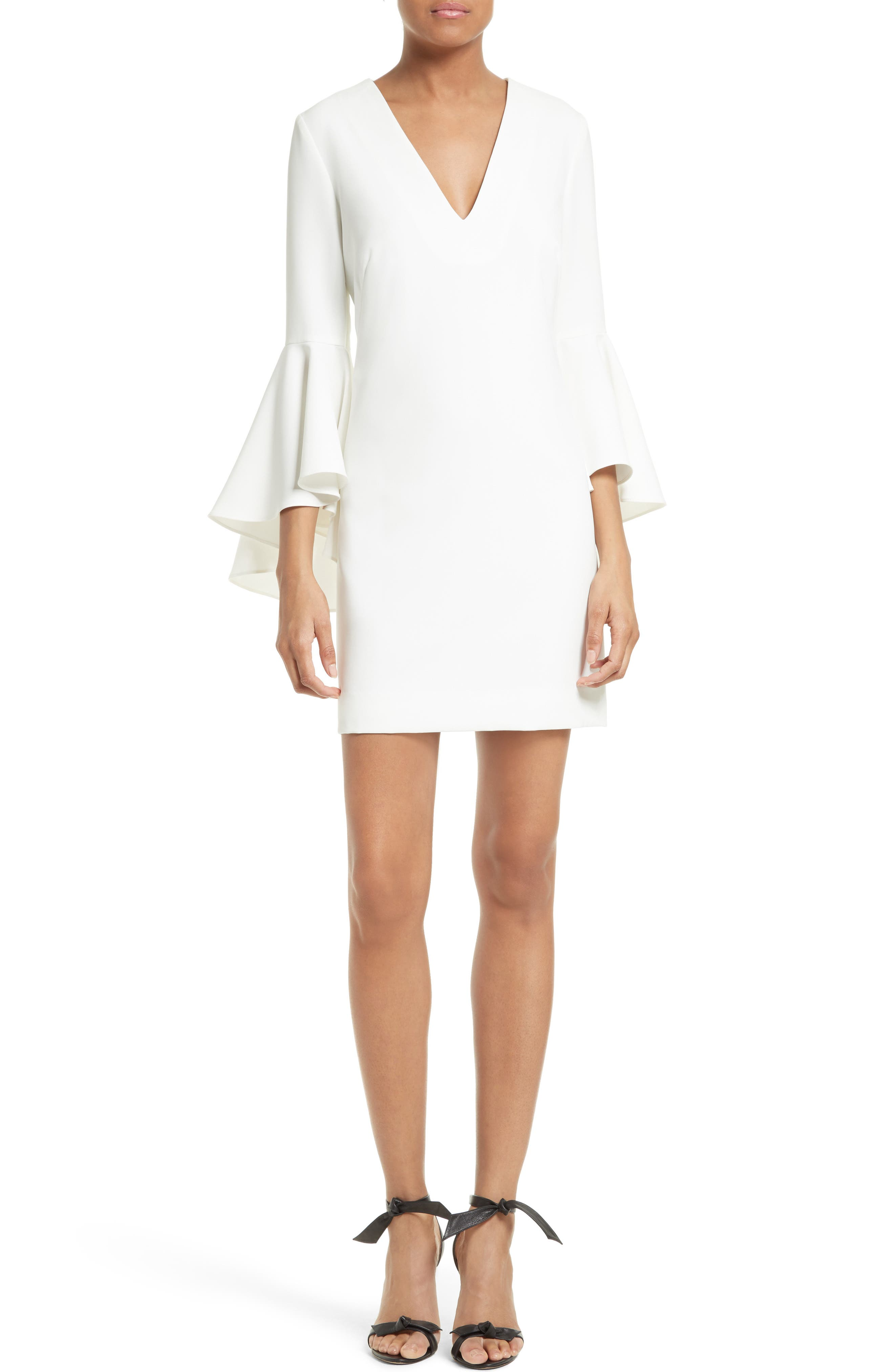 Nicole Bell Sleeve Dress,                             Main thumbnail 5, color,