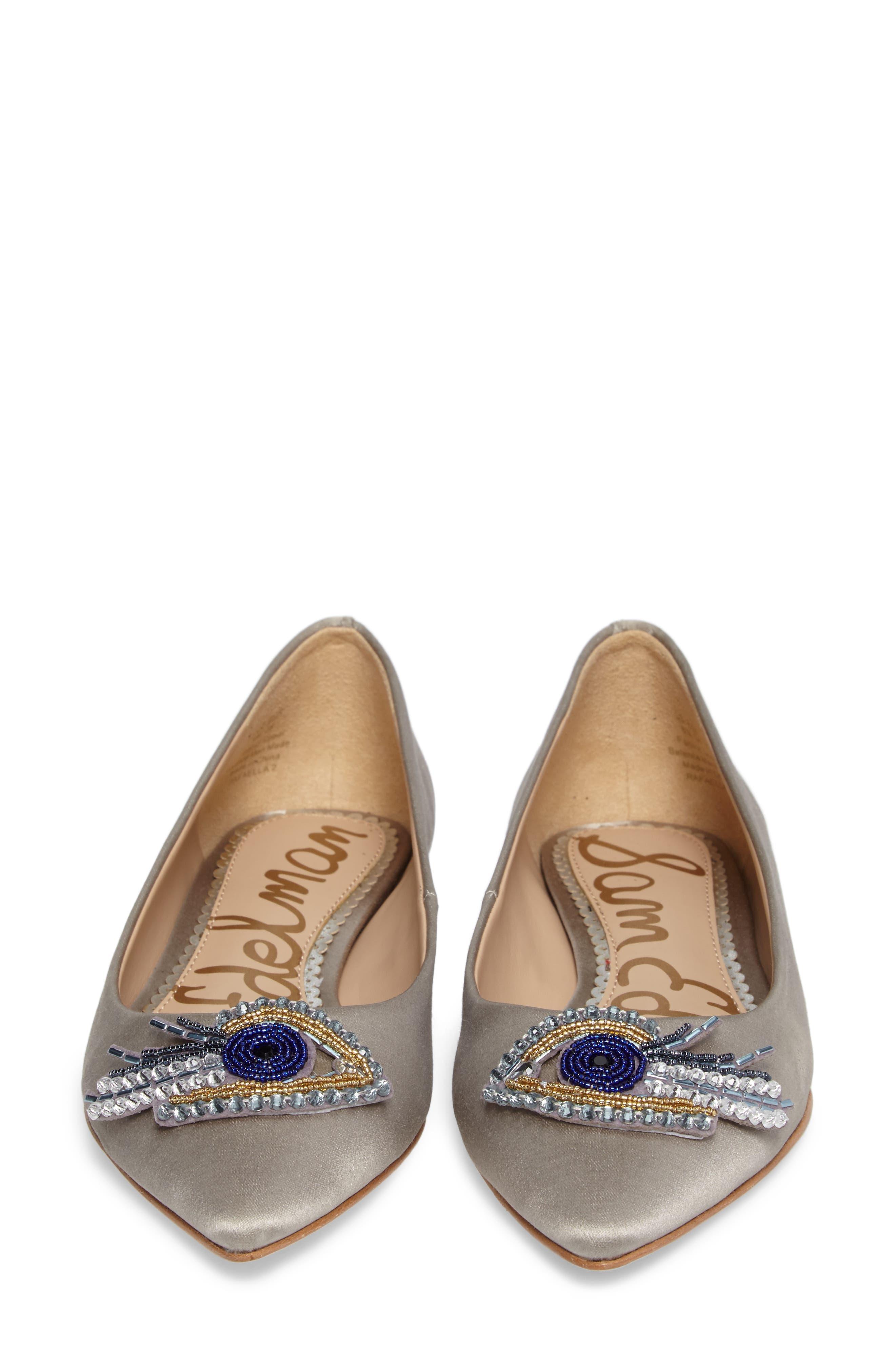 Rafaella Pointy Toe Ballet Flat,                             Alternate thumbnail 5, color,                             020
