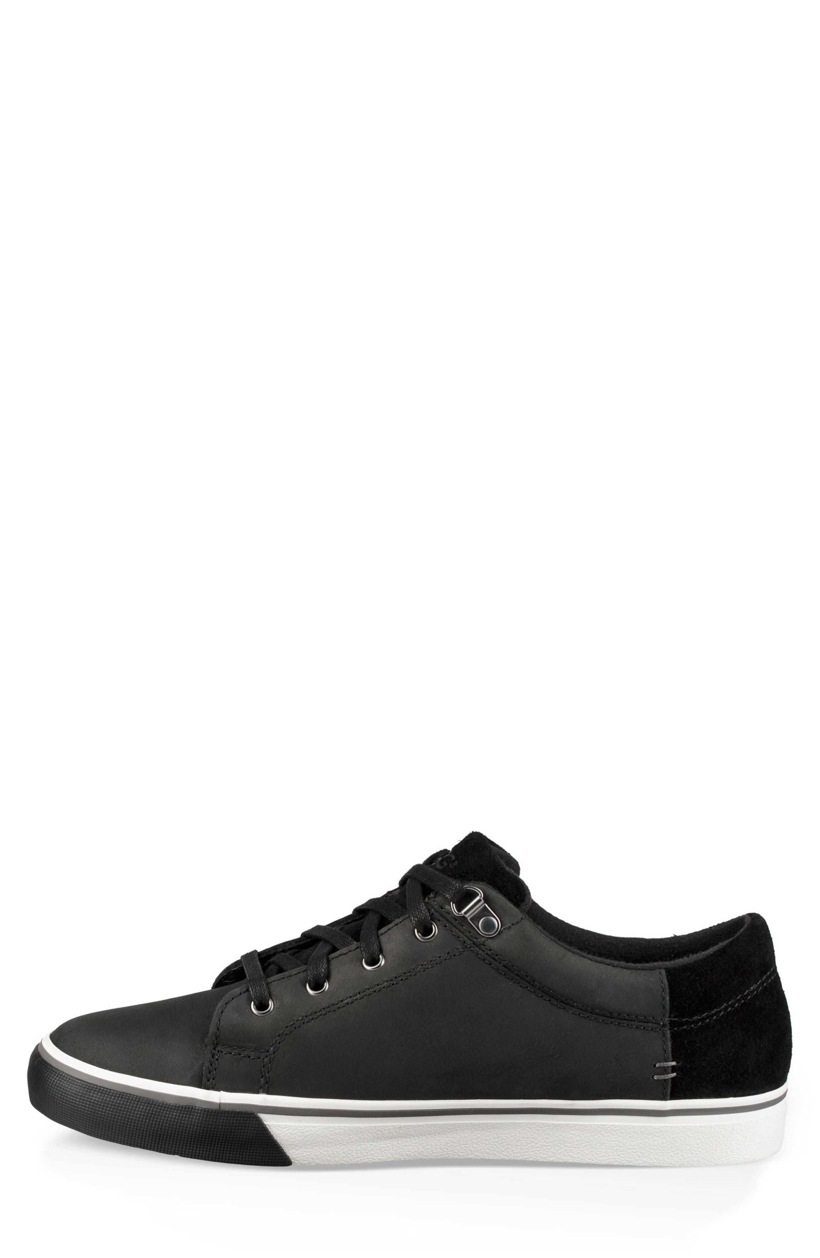 Brock II Waterproof Sneaker,                             Alternate thumbnail 3, color,                             BLACK