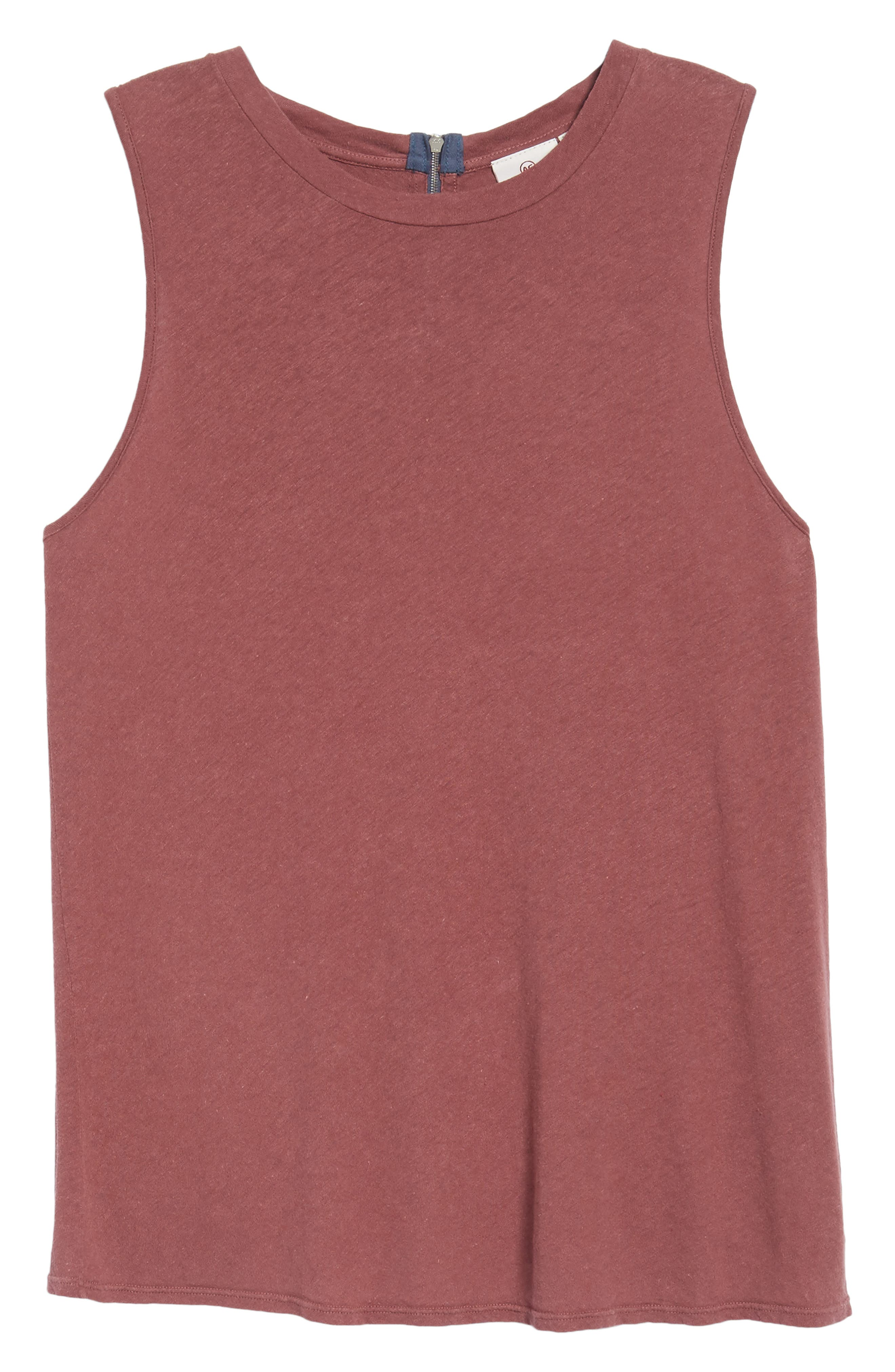 Serena Tank,                             Alternate thumbnail 6, color,                             MELLOW FIG