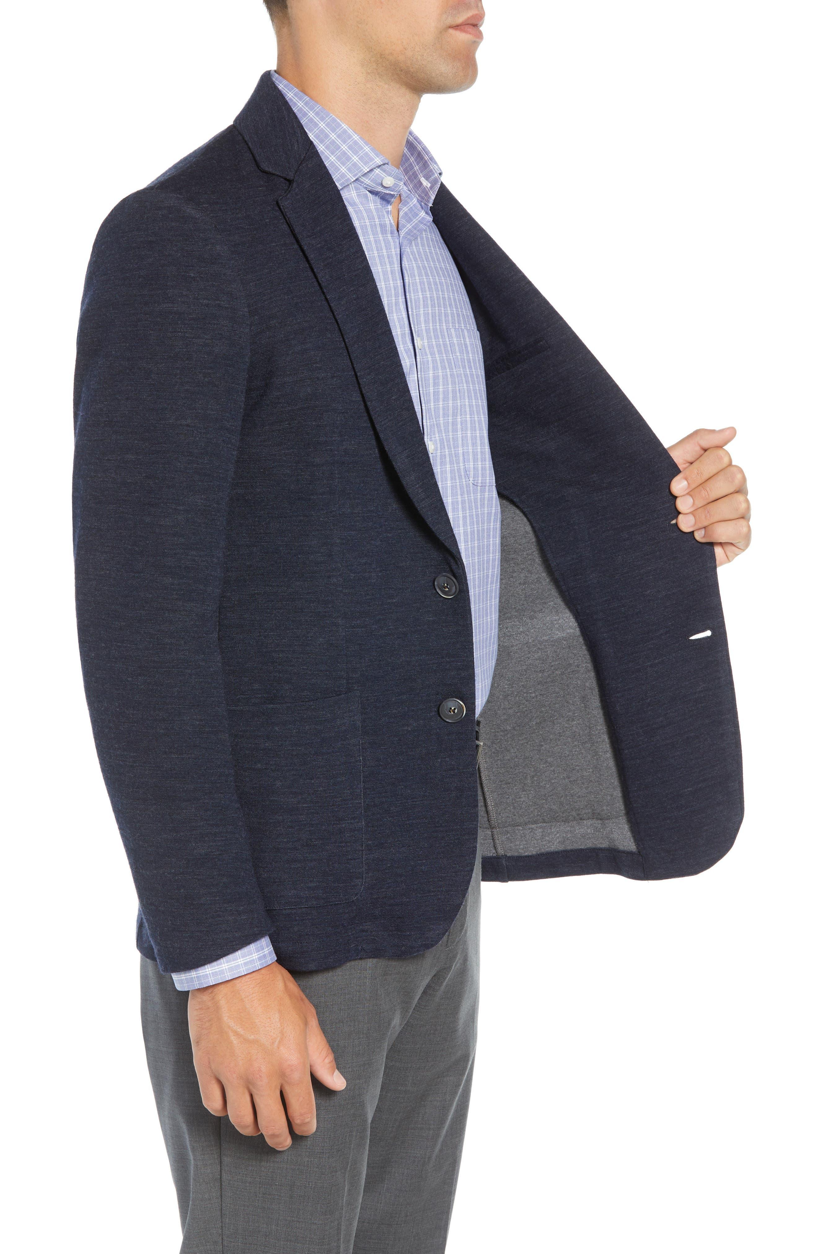 Granite Regular Fit Knit Sport Coat,                             Alternate thumbnail 3, color,                             410