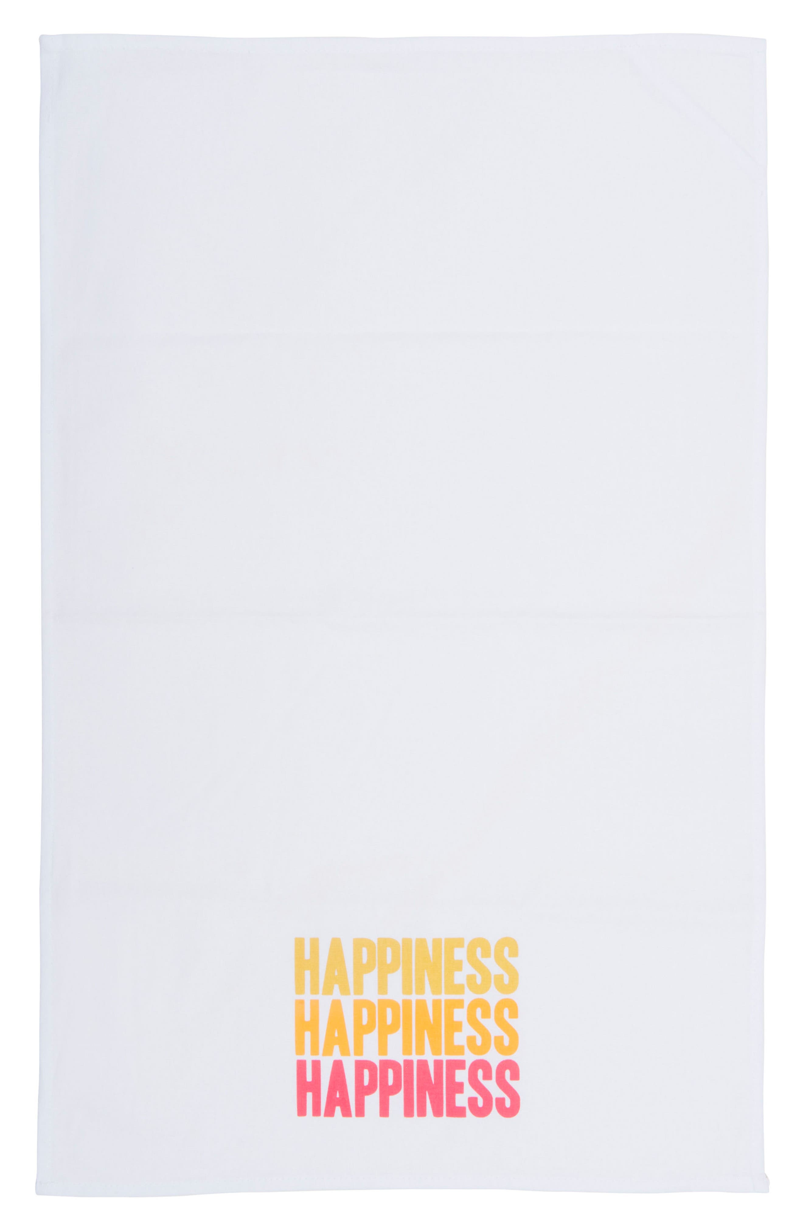 Peace Love Happiness Set of 3 Tea Towels,                             Alternate thumbnail 7, color,                             100