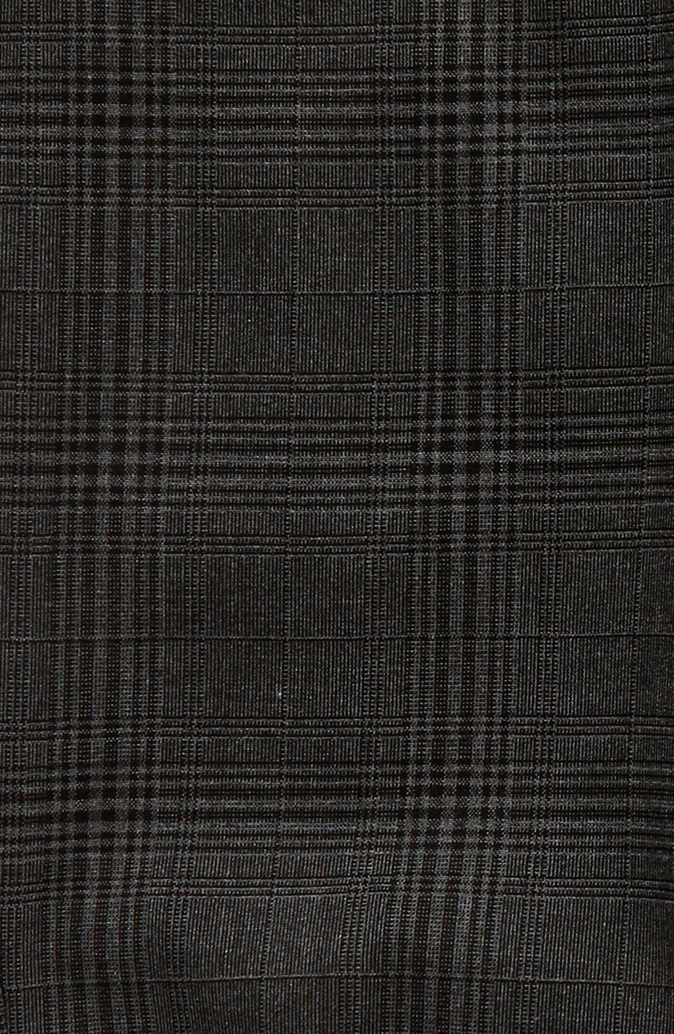 Bristol Plaid Shorts,                             Alternate thumbnail 5, color,                             001