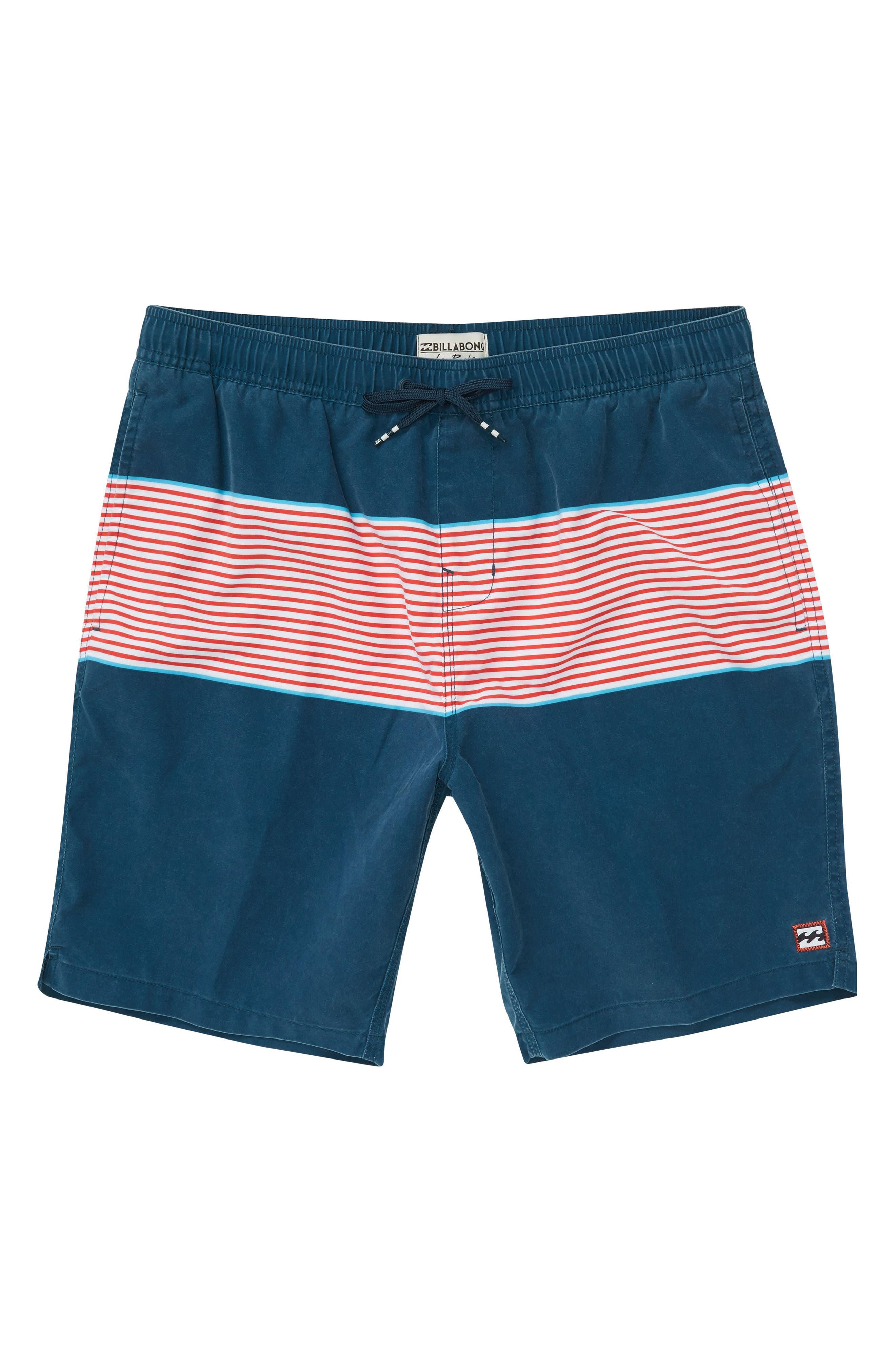 Tribong Layback Board Shorts,                             Alternate thumbnail 3, color,                             428