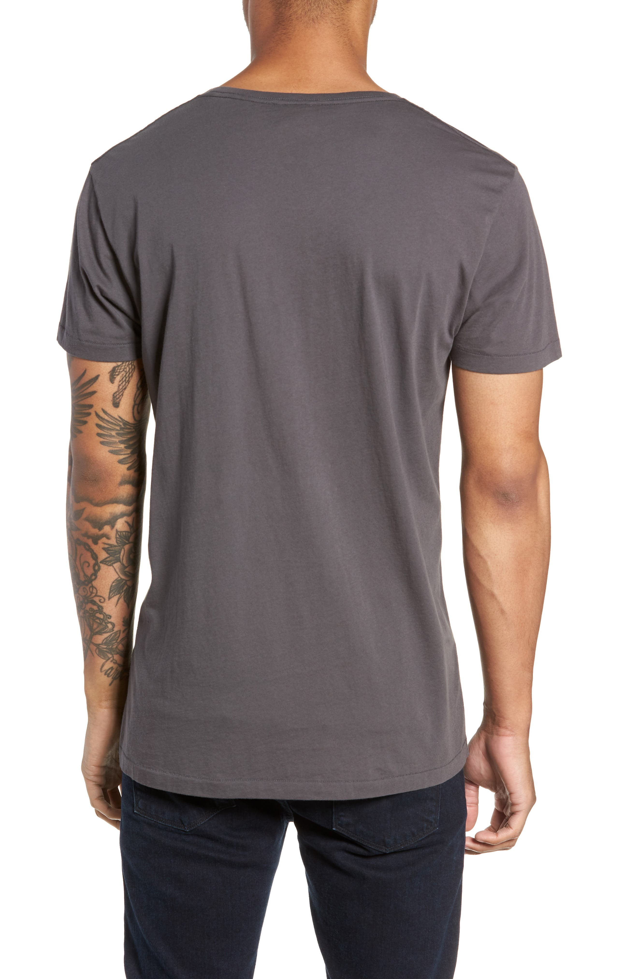 Alias Relaxed Fit T-Shirt,                             Alternate thumbnail 2, color,                             DARK ANTRACITE