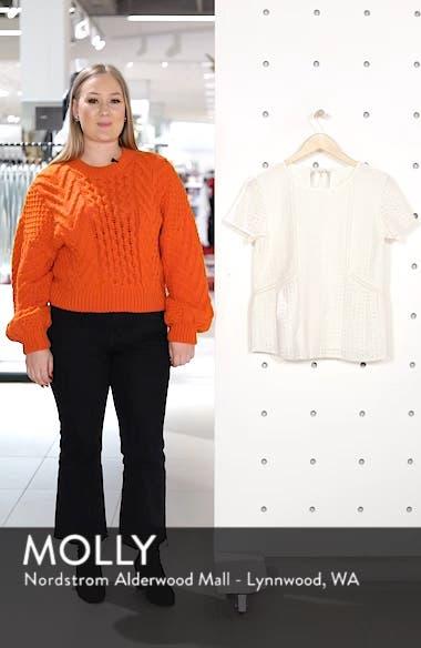 Clo Crochet Blouse, sales video thumbnail