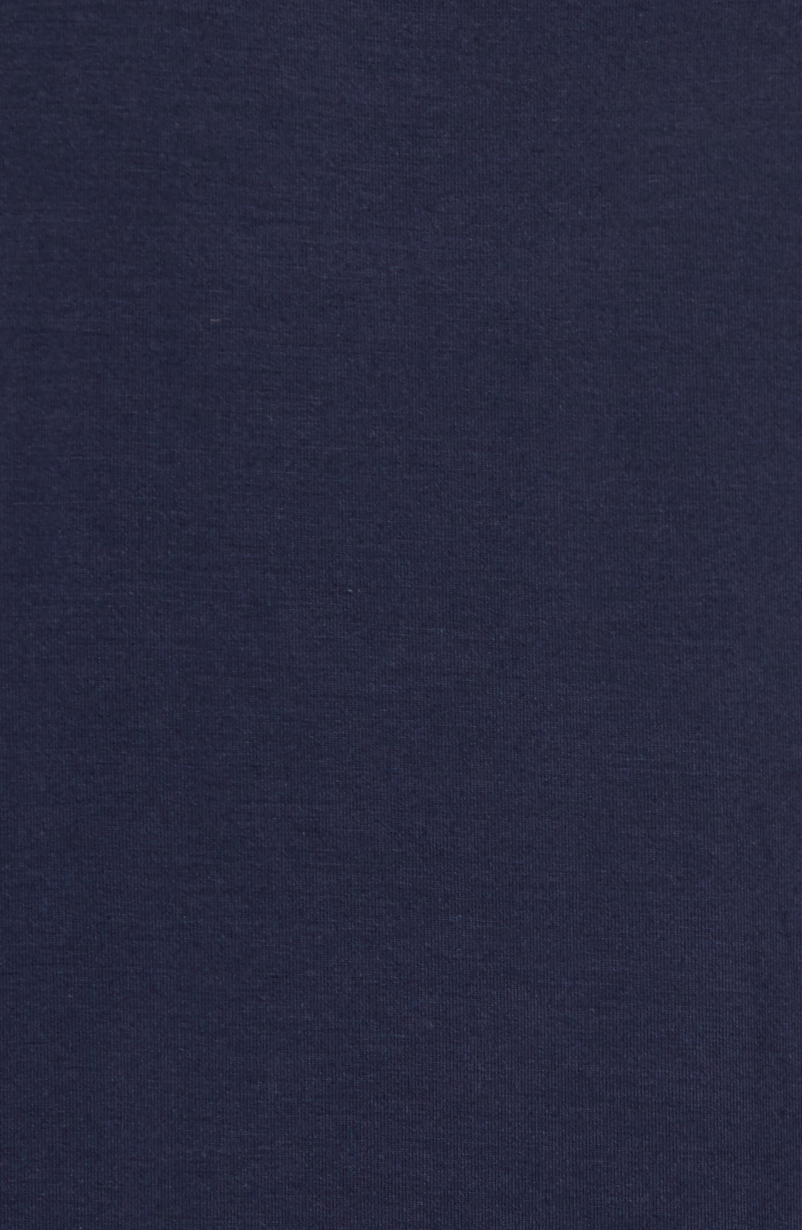 Modal & Silk Pocket T-Shirt,                             Alternate thumbnail 5, color,                             411