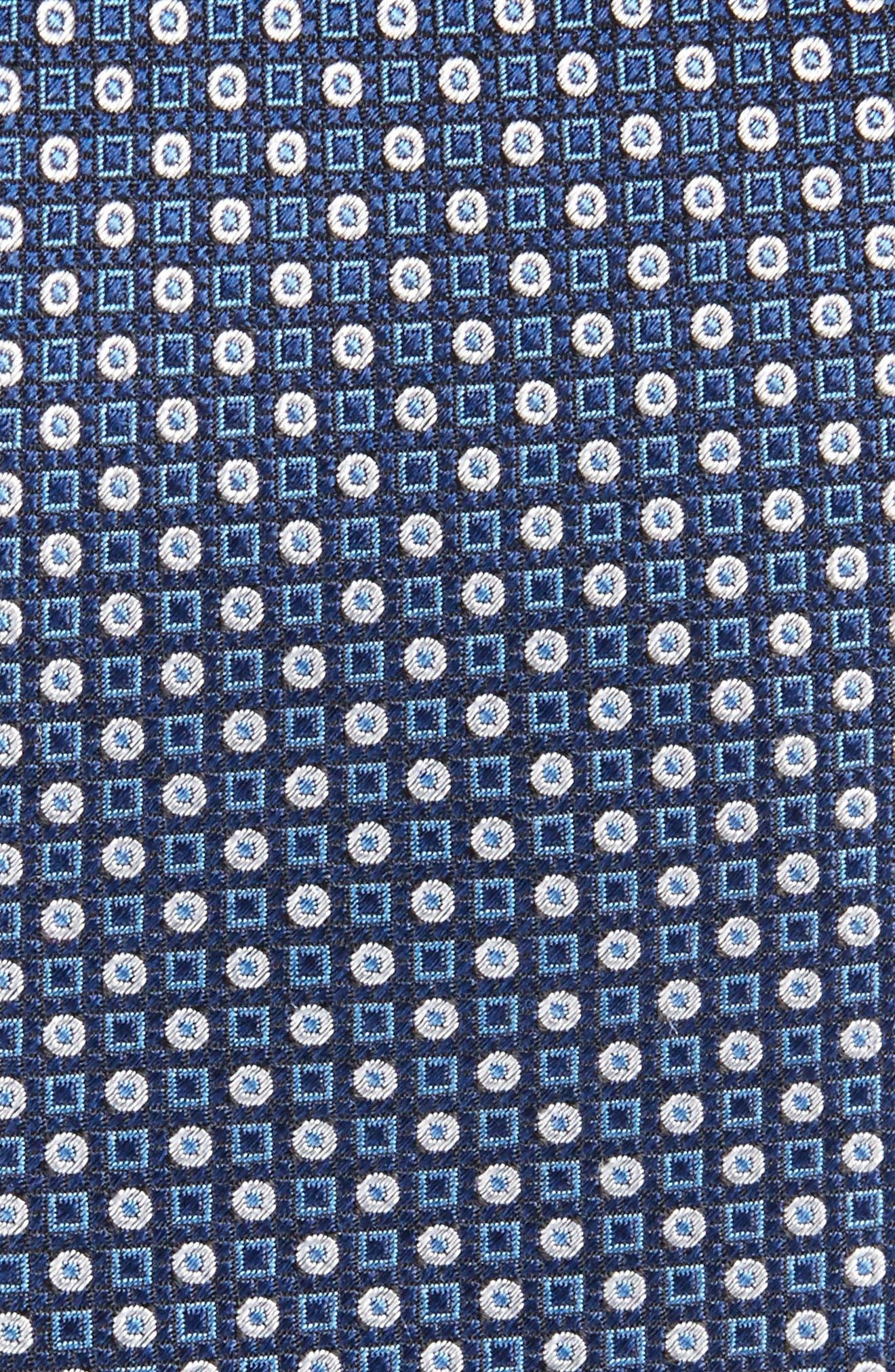 Market Geometric Silk Skinny Tie,                             Alternate thumbnail 2, color,                             410