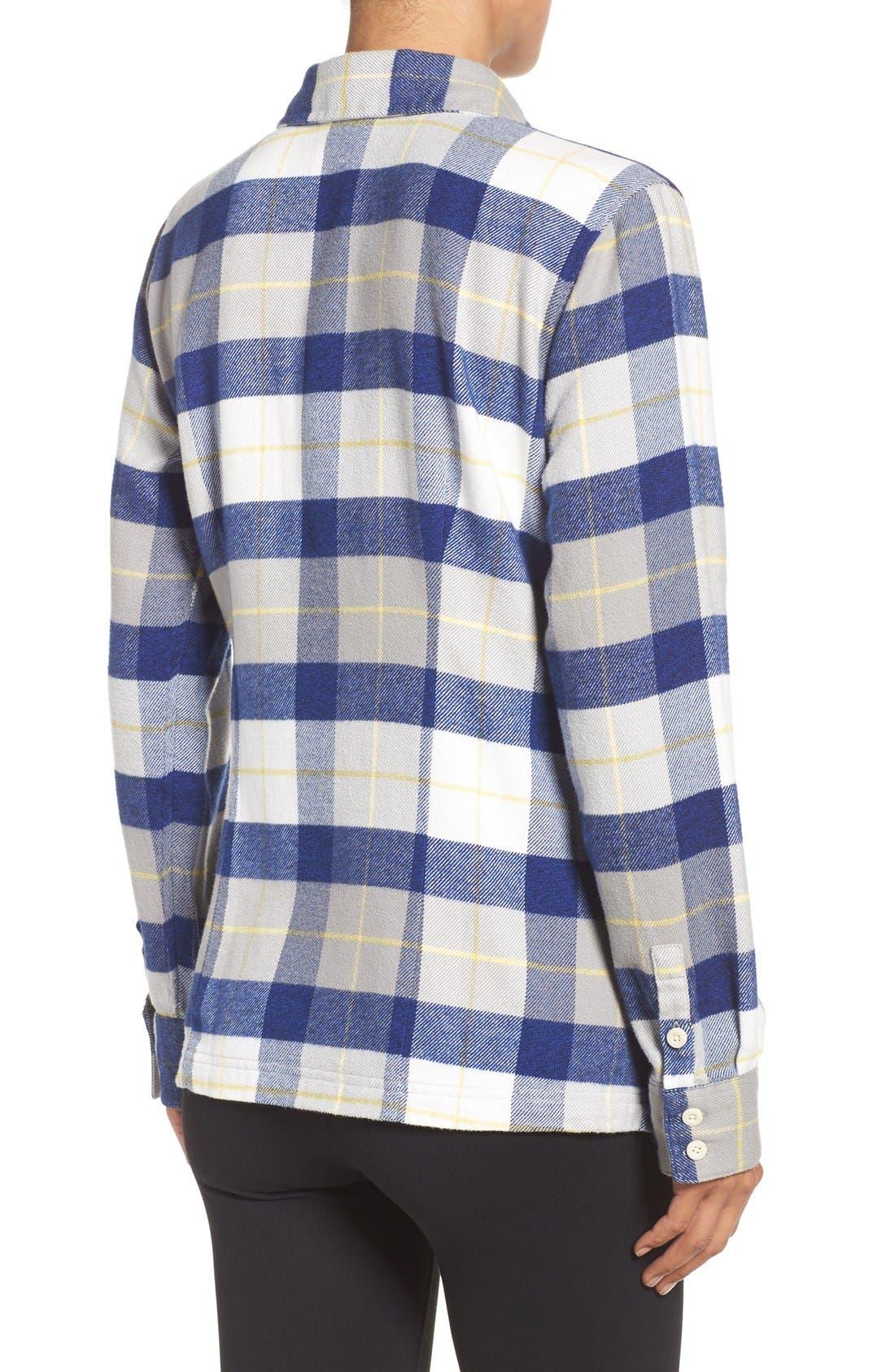 'Fjord' Flannel Shirt,                             Alternate thumbnail 83, color,