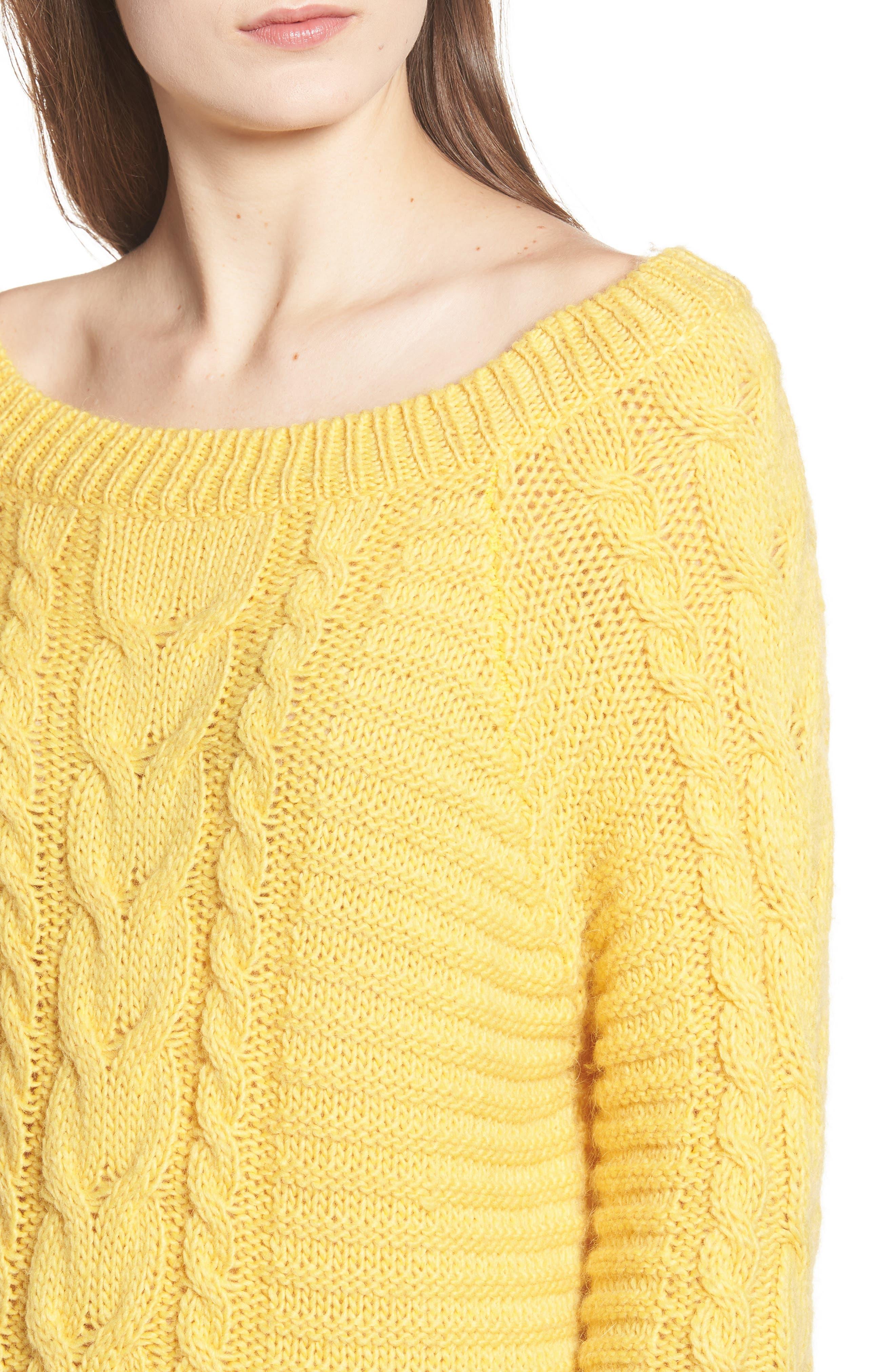 REBECCA MINKOFF,                             Juna Sweater,                             Alternate thumbnail 4, color,                             700