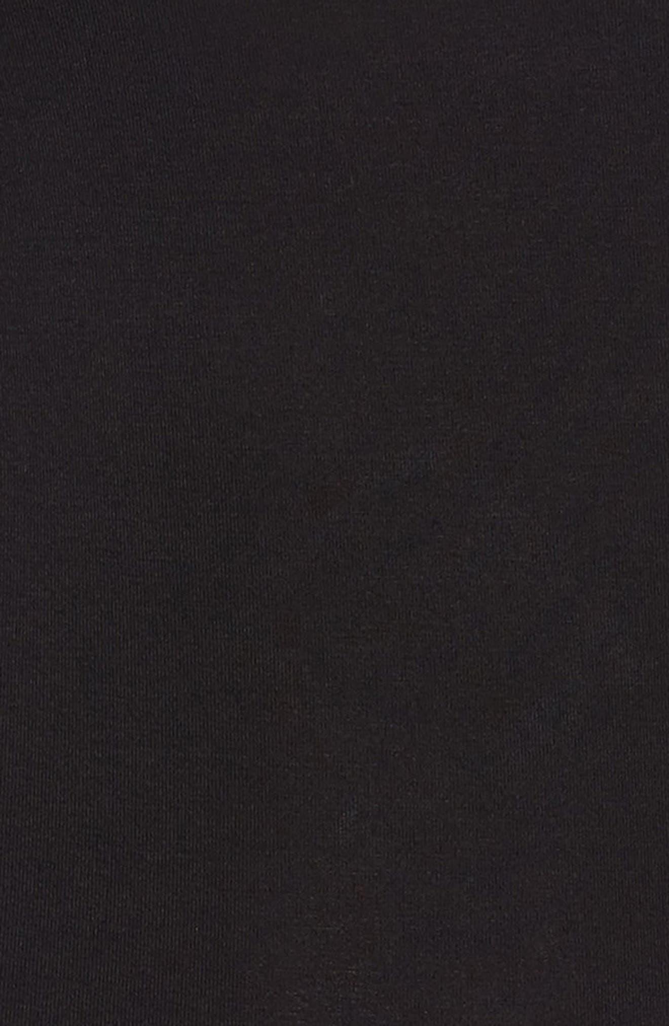 OBEY,                             Strappy Back Bodysuit,                             Alternate thumbnail 5, color,                             001