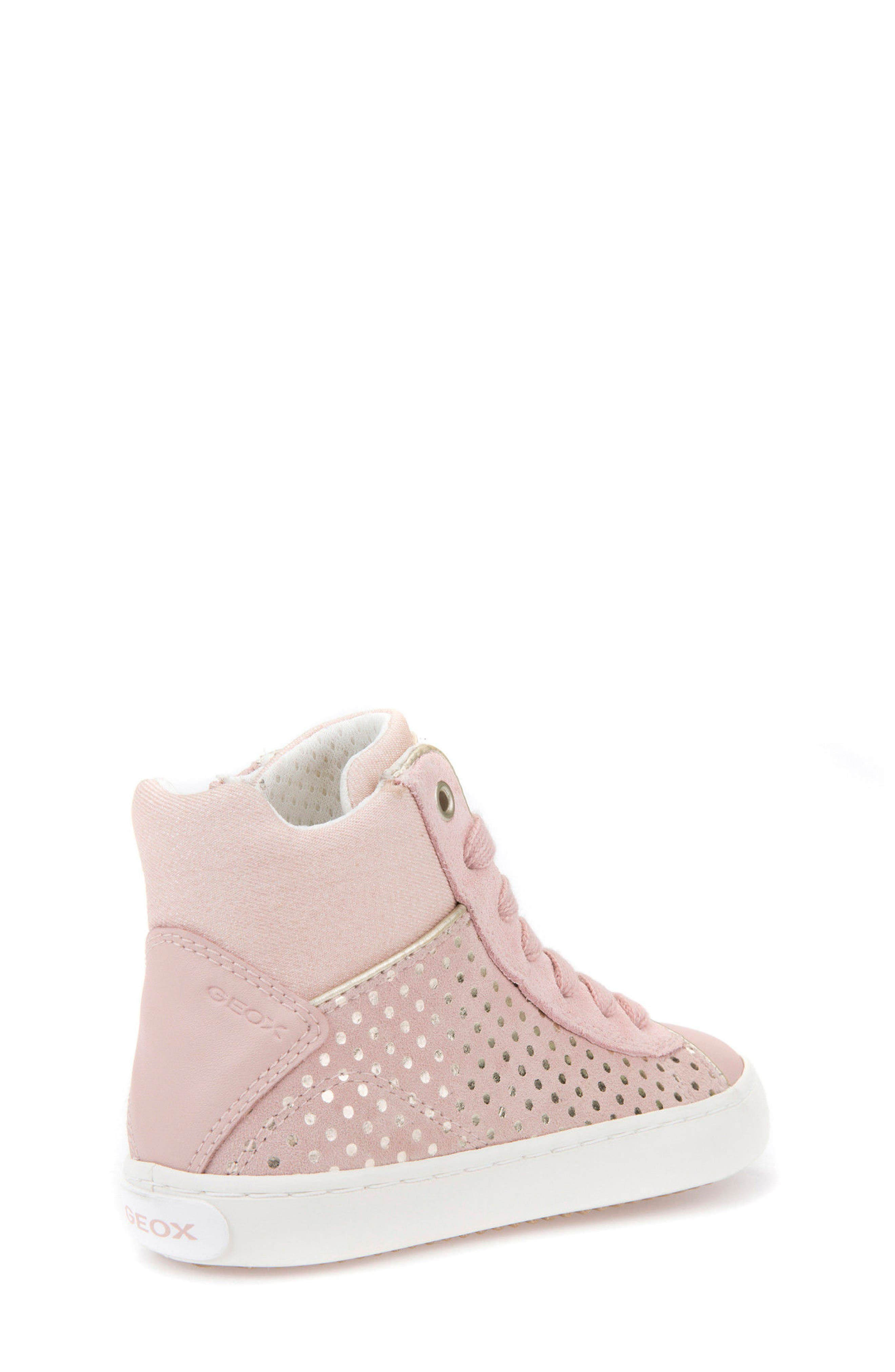 Kilwi High Top Zip Sneaker,                             Alternate thumbnail 2, color,                             ROSE