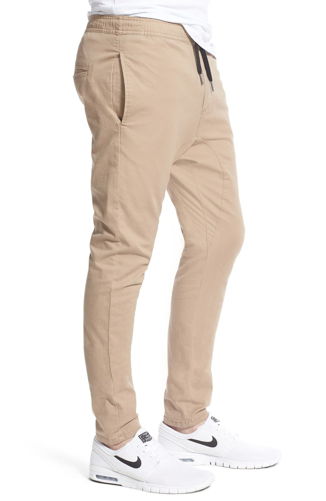 Salerno Stretch Woven Jogger Pants,                             Alternate thumbnail 32, color,