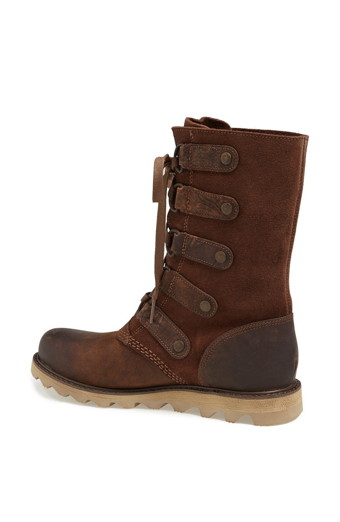SOREL,                             'Scotia' Lace-Up Waterproof Leather Boot,                             Alternate thumbnail 4, color,                             202