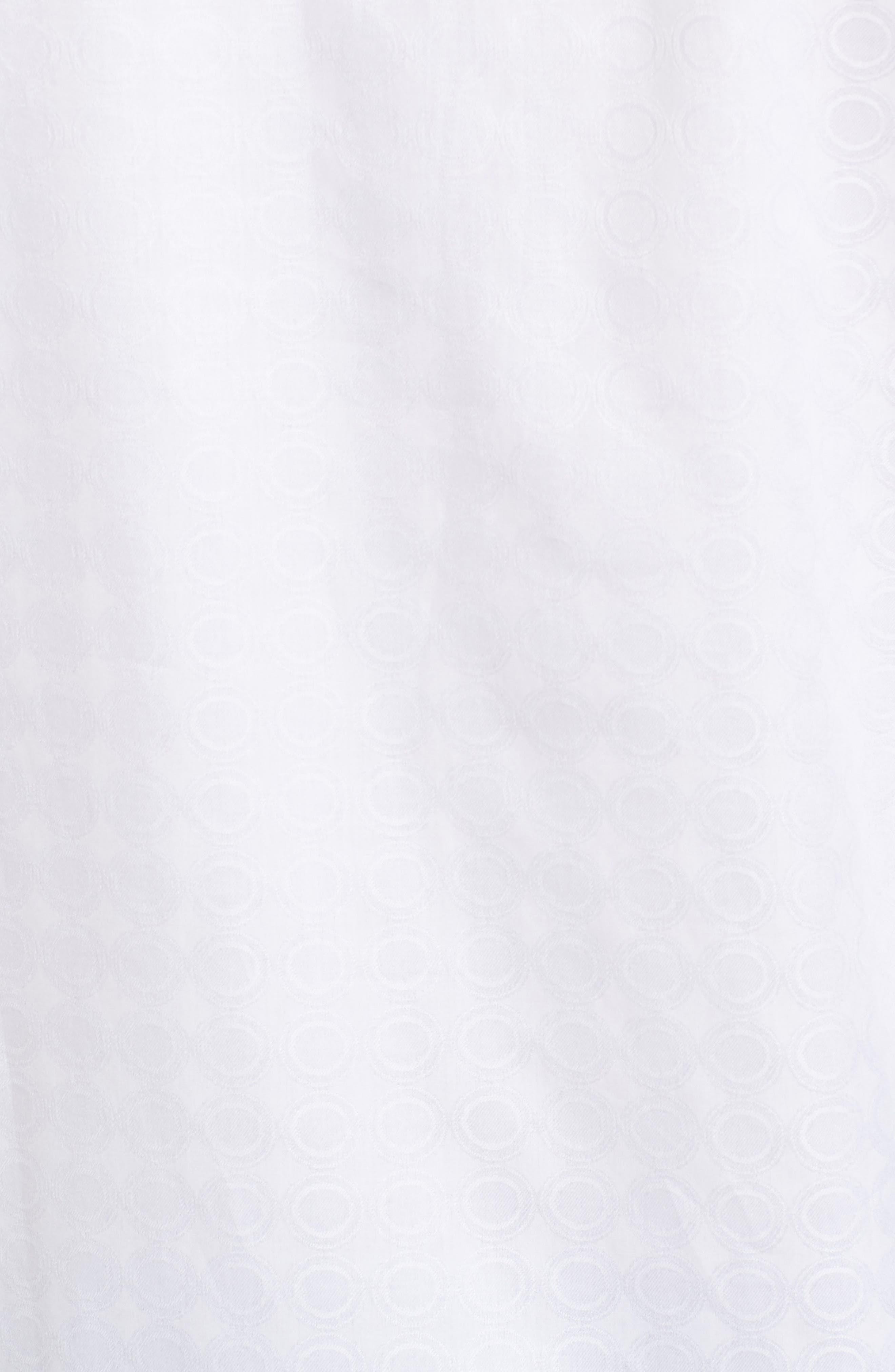 Classic Fit Tonal Circles Sport Shirt,                             Alternate thumbnail 5, color,                             100
