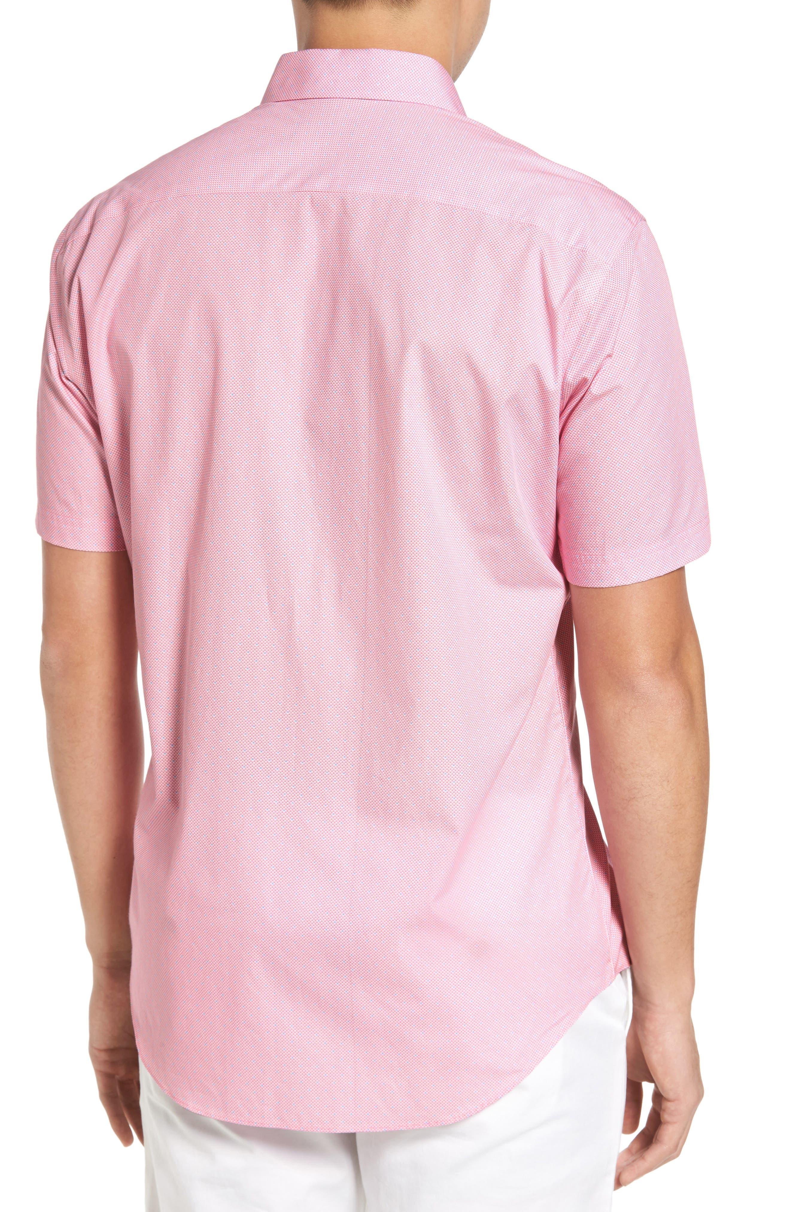 Dardano Trim Fit Print Sport Shirt,                             Alternate thumbnail 2, color,                             650