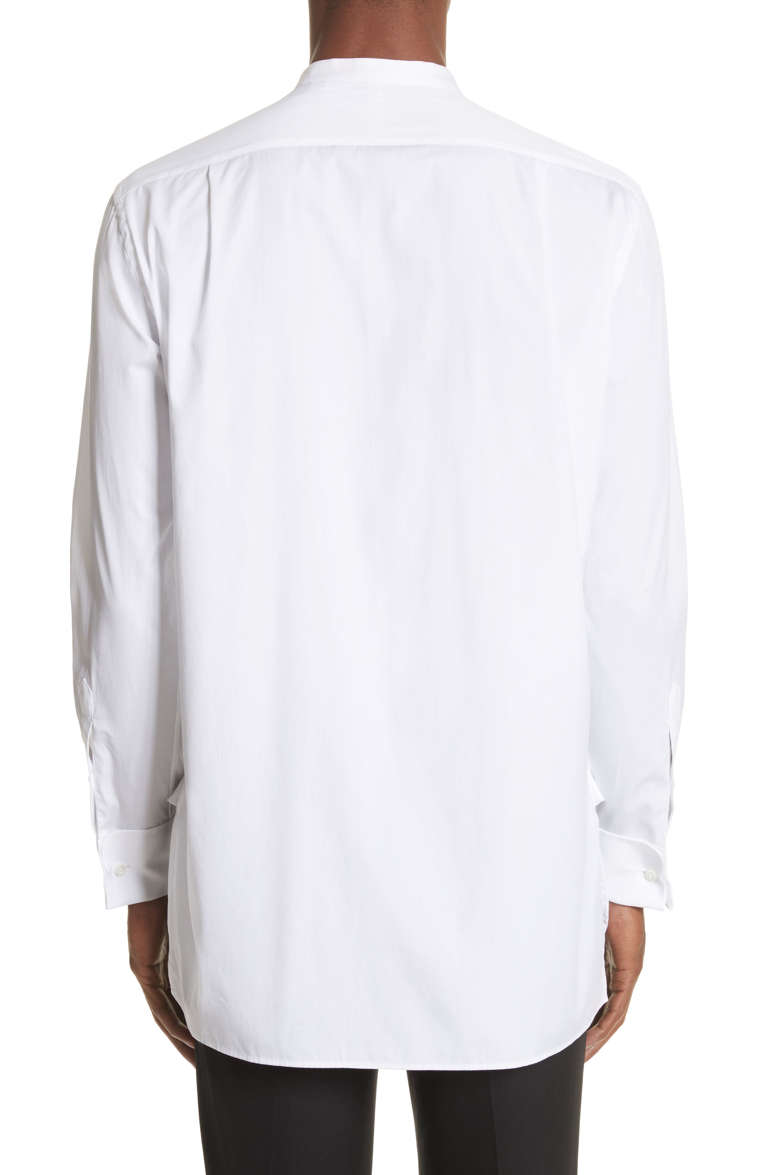 Bib Detail Sport Shirt,                             Alternate thumbnail 3, color,                             100