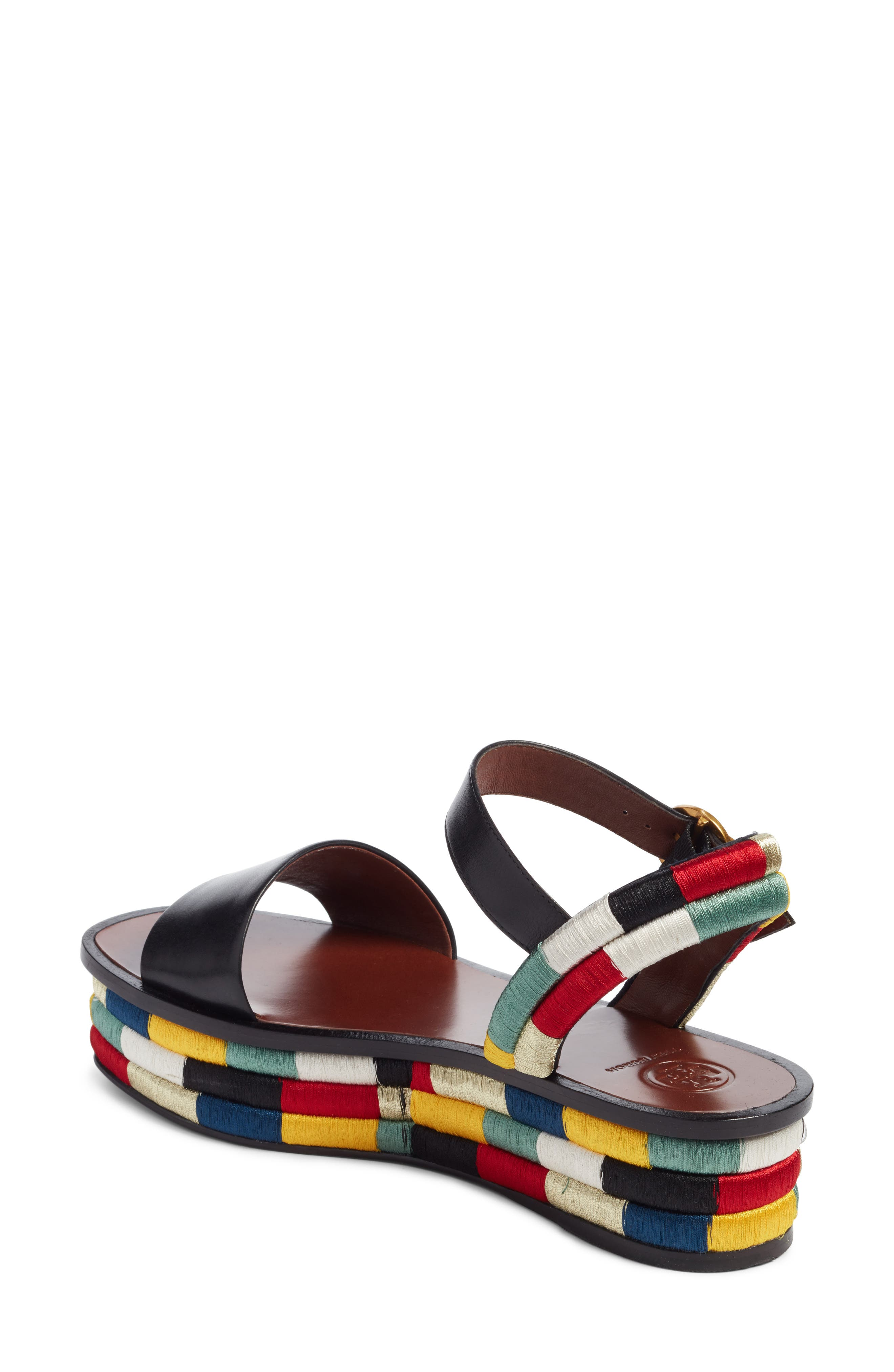 Camilla Platform Sandal,                             Alternate thumbnail 2, color,                             001