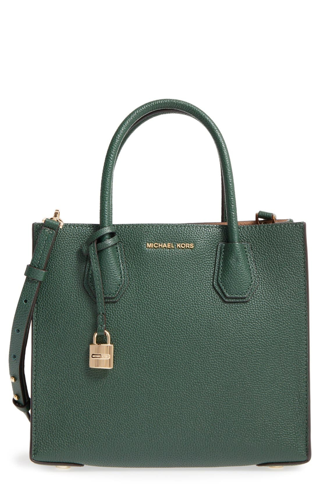 'Medium Mercer' Leather Tote,                             Main thumbnail 6, color,