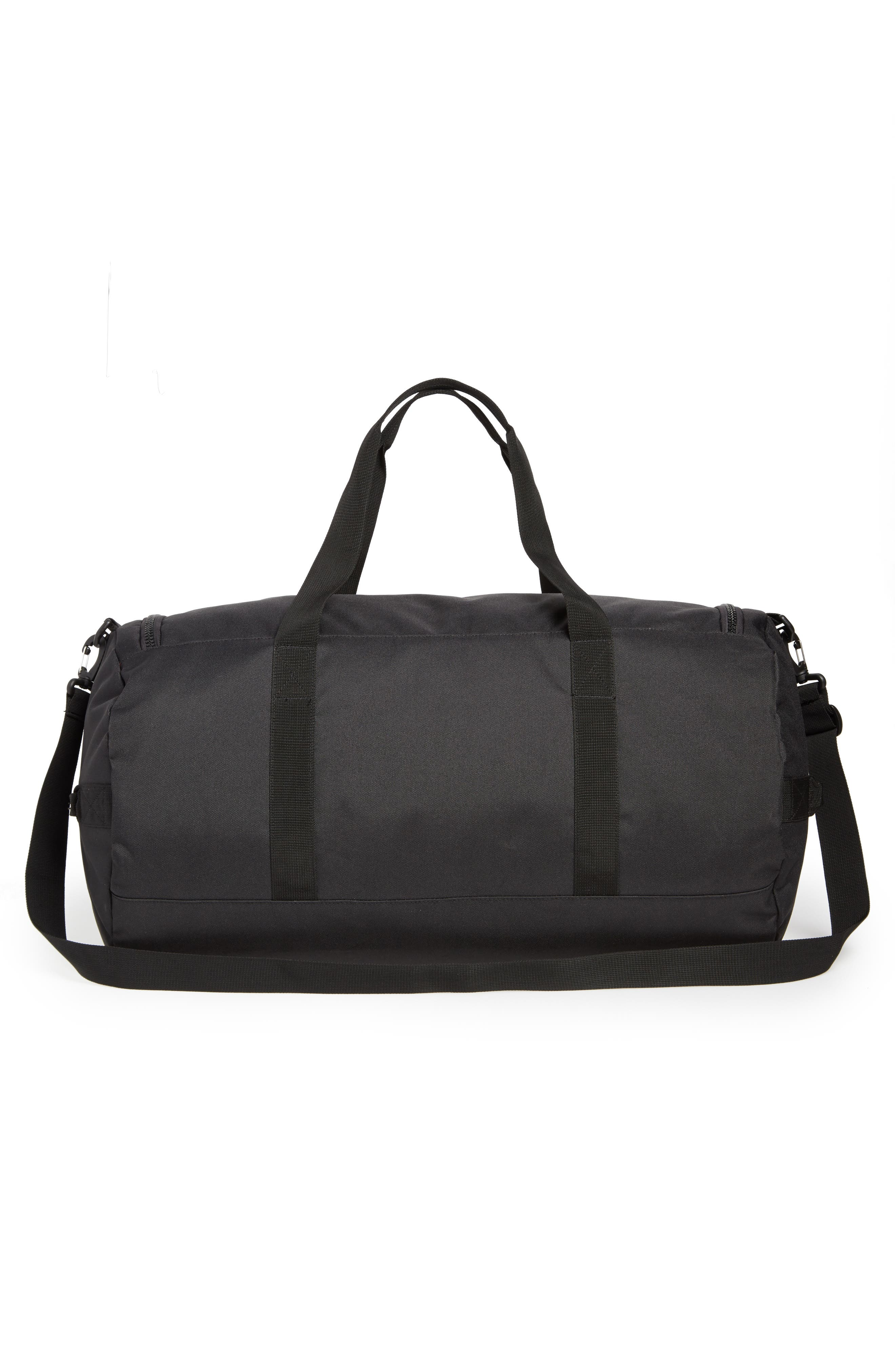 Sutton Duffel Bag,                             Alternate thumbnail 3, color,                             BLACK