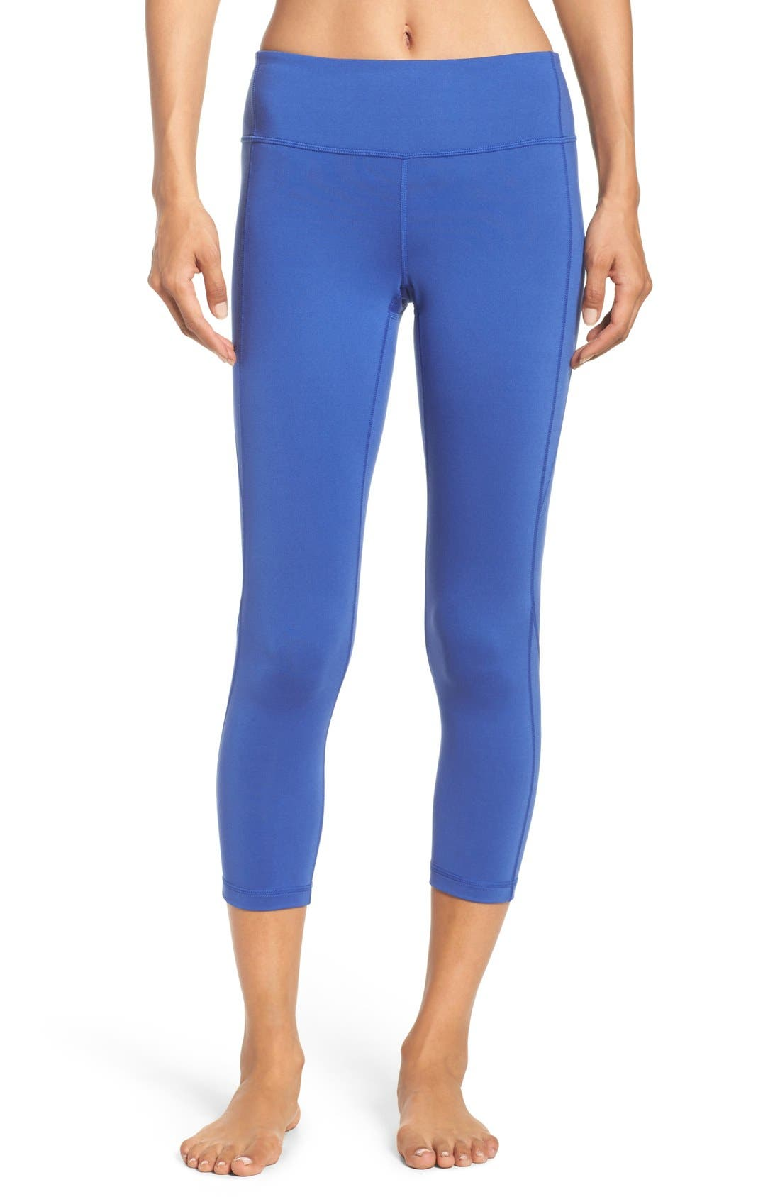 Live-In Keep It Cool Crop Leggings,                             Main thumbnail 6, color,