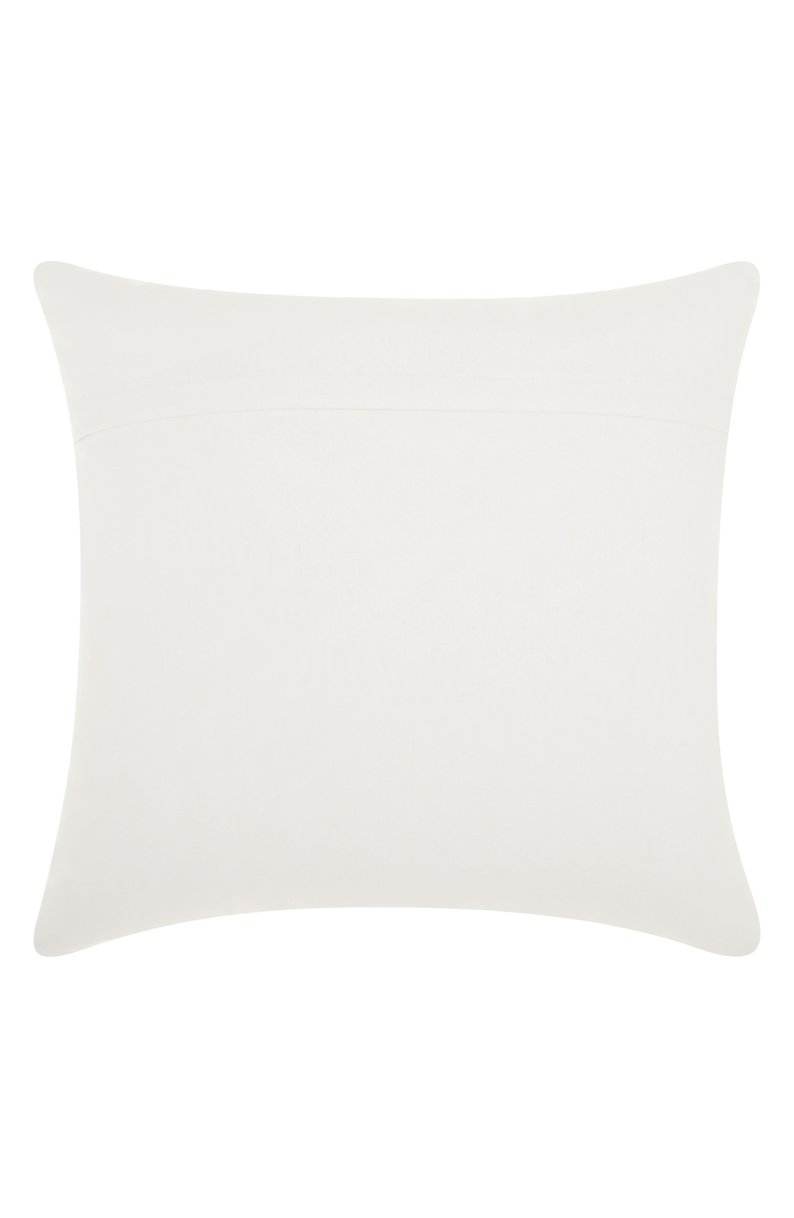 Sequin DJ Kitten Accent Pillow,                             Alternate thumbnail 2, color,                             WHITE