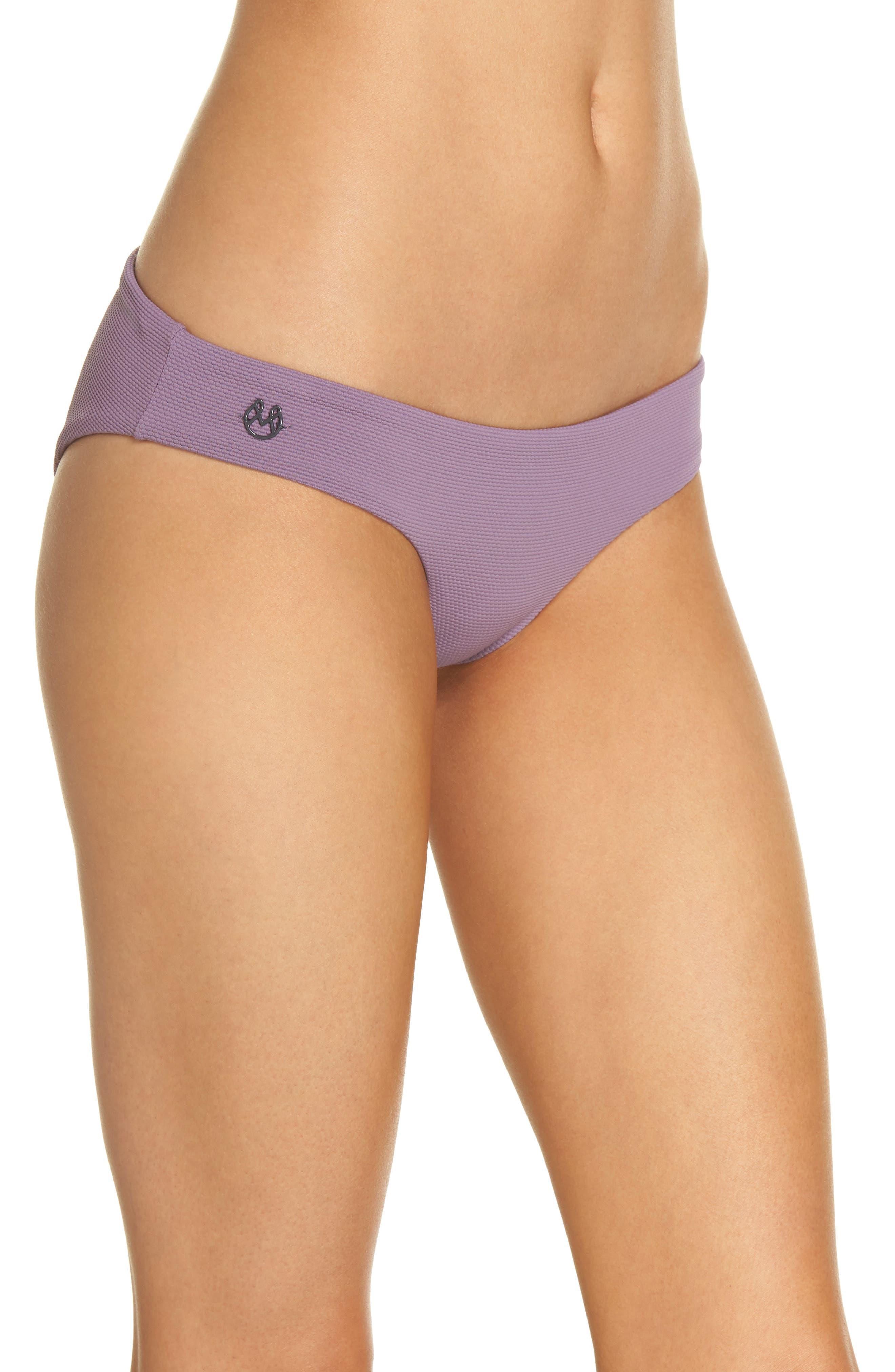 Purple Sage Sublime Signature Reversible Bikini Bottoms,                             Alternate thumbnail 4, color,