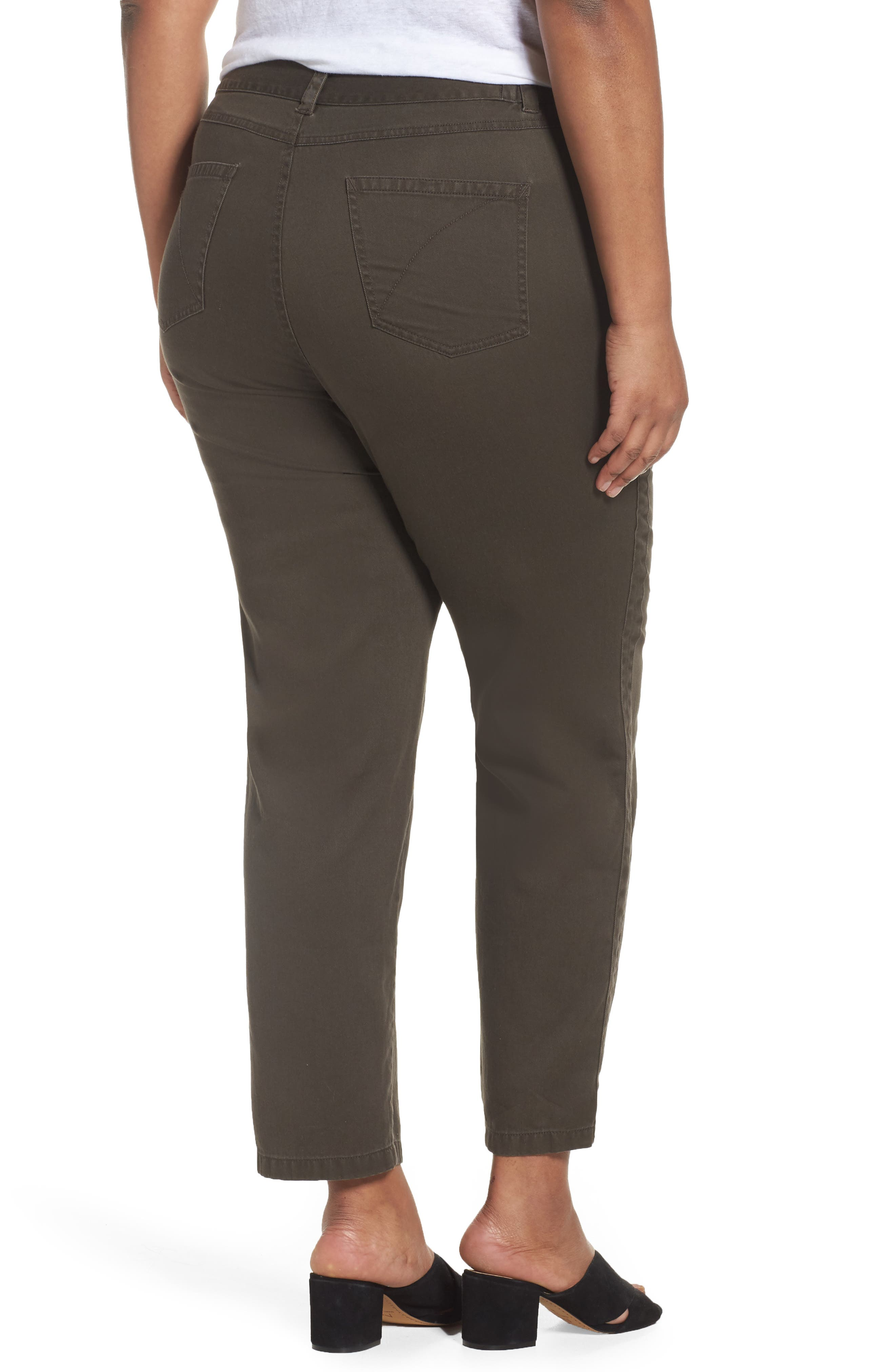 Twill Ankle Pants,                             Alternate thumbnail 2, color,                             311