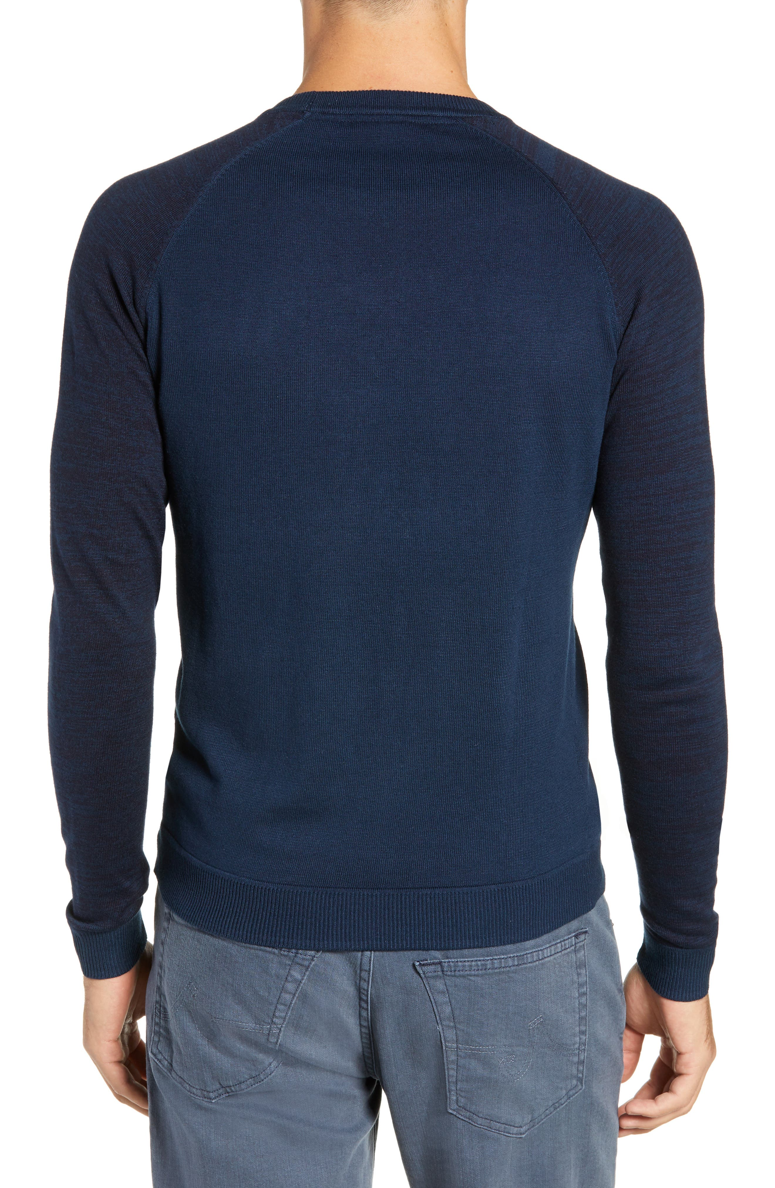 Cornfed Slim Fit Sweater,                             Alternate thumbnail 2, color,                             TEAL-BLUE
