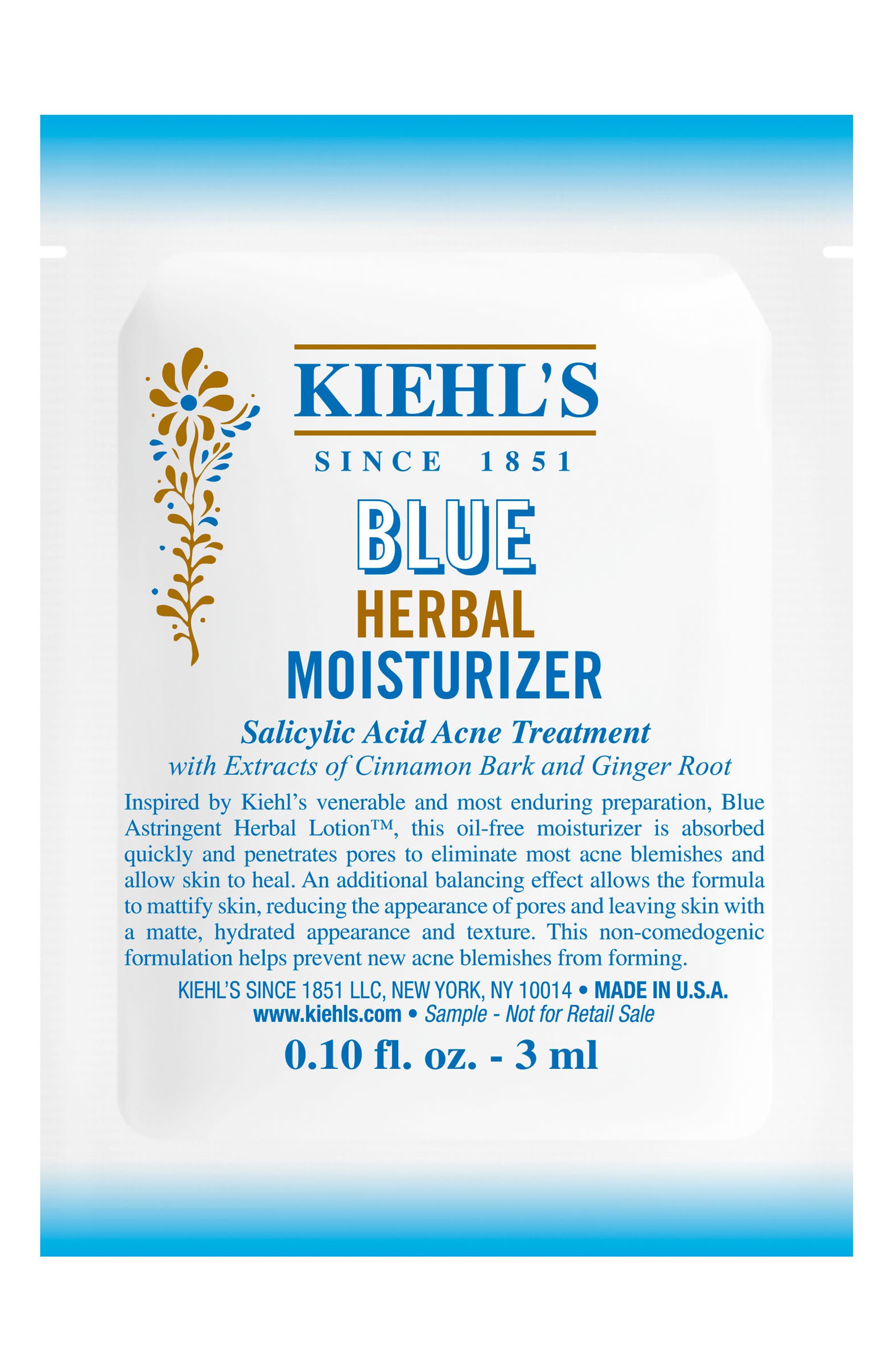 Blue Herbal Moisturizer,                             Alternate thumbnail 2, color,                             NO COLOR