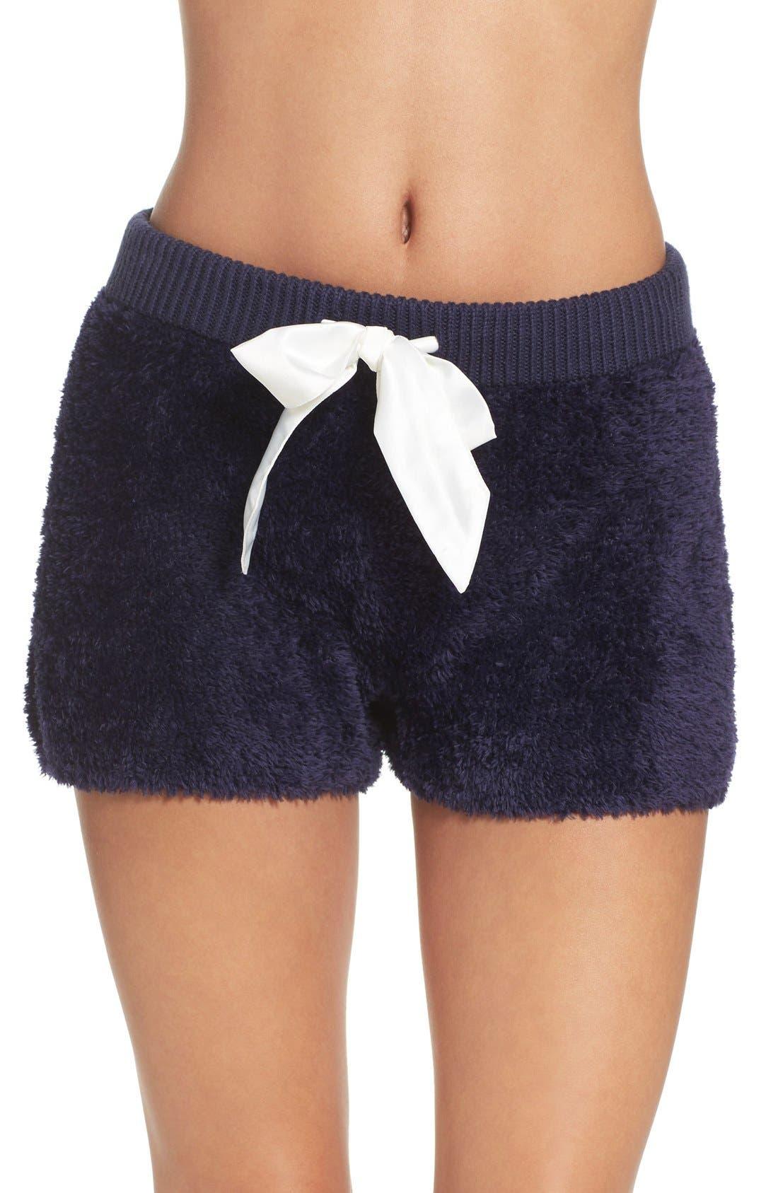 Fuzzy Lounge Shorts,                             Main thumbnail 2, color,