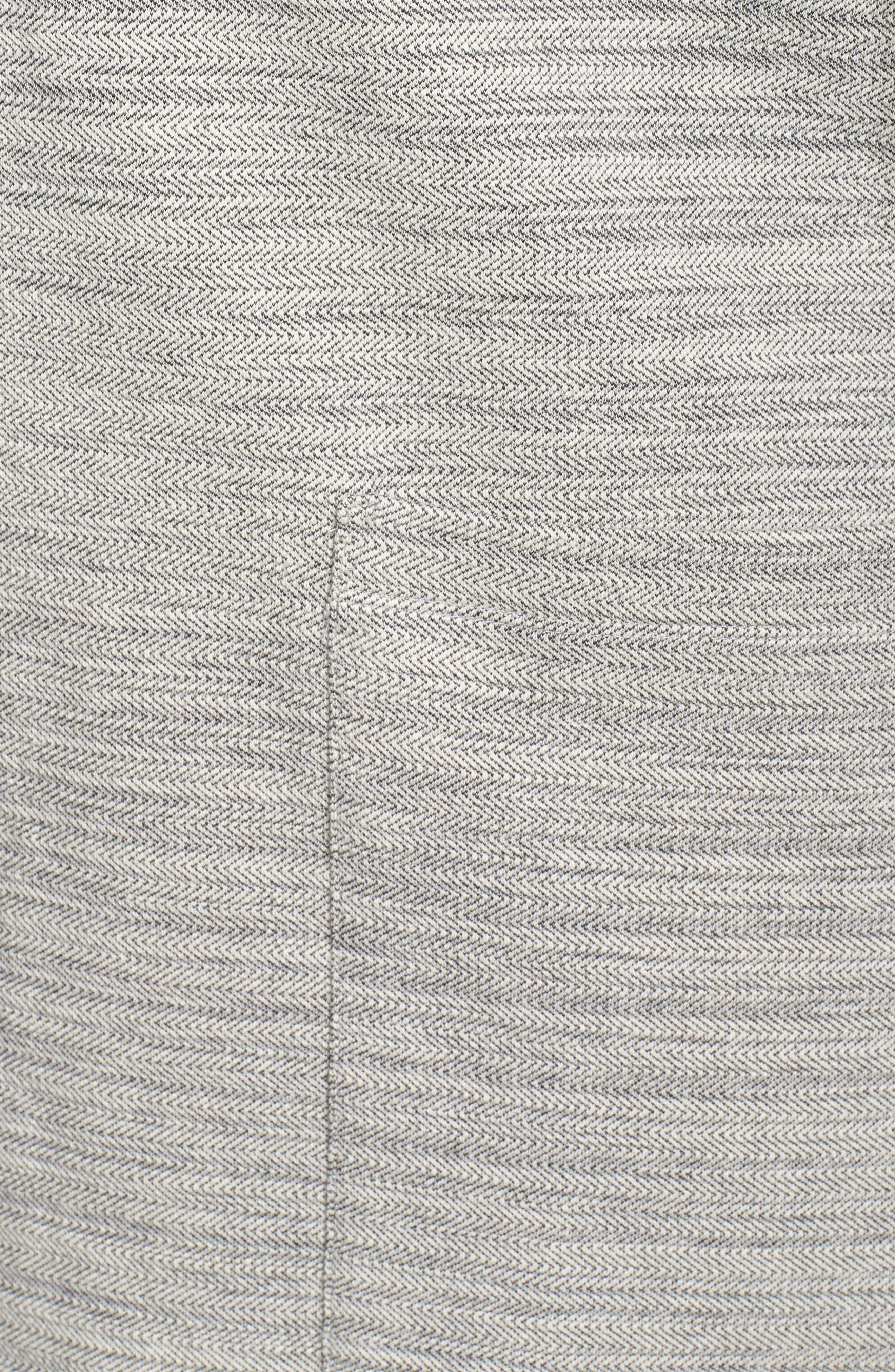 Cotton Blend Tweed Jacket,                             Alternate thumbnail 6, color,                             022