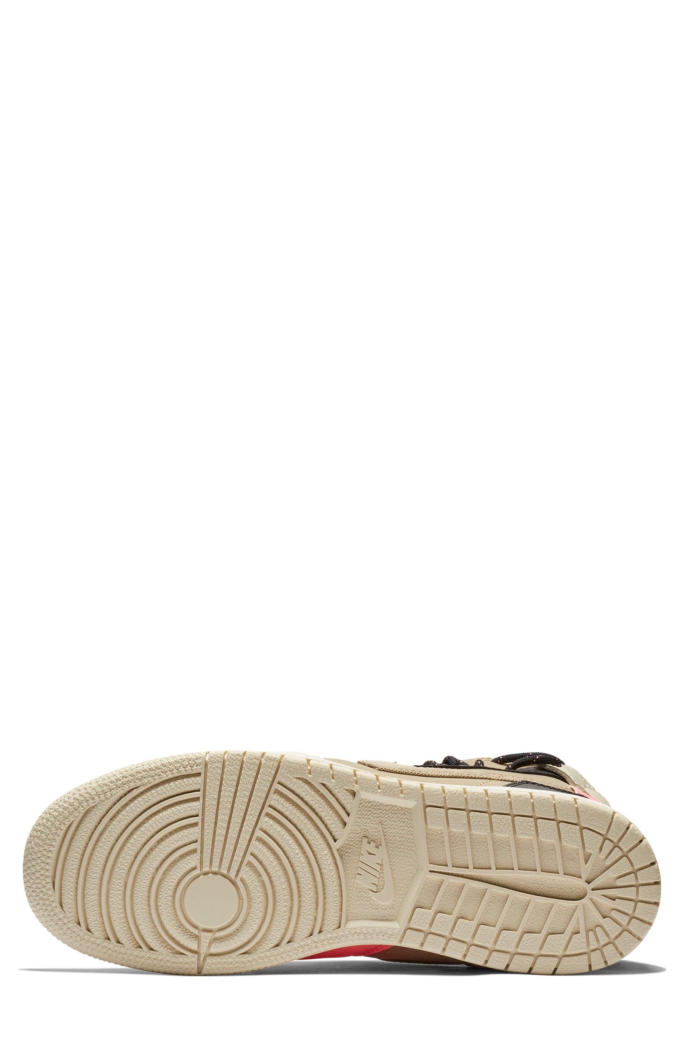 Air Jordan 1 Rebel XX Utility High Top Sneaker,                             Alternate thumbnail 5, color,                             PARACHUTE BEIGE