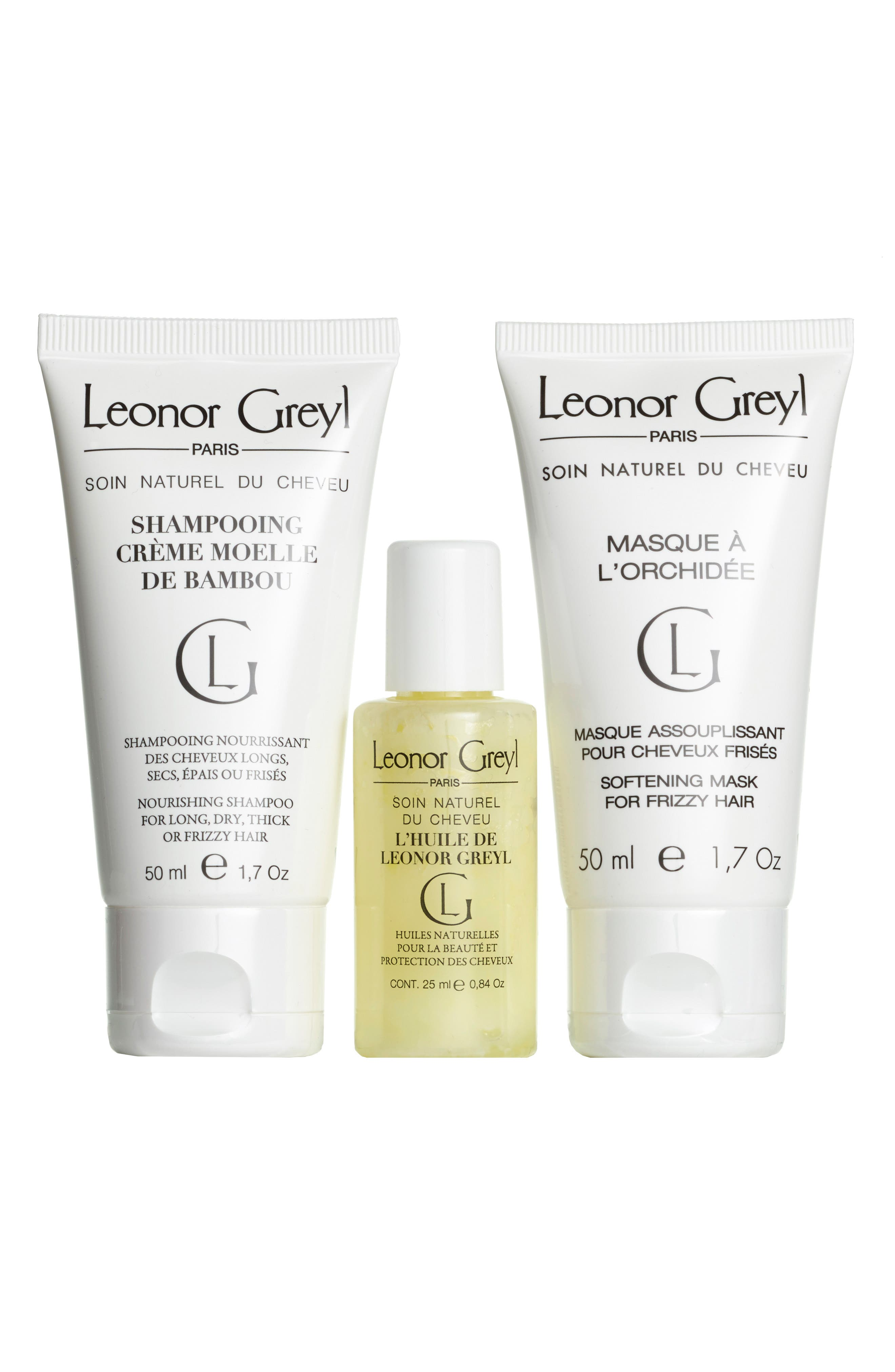 Luxury Travel Kit for Very Dry, Thick or Curly Hair,                             Alternate thumbnail 2, color,                             NO COLOR