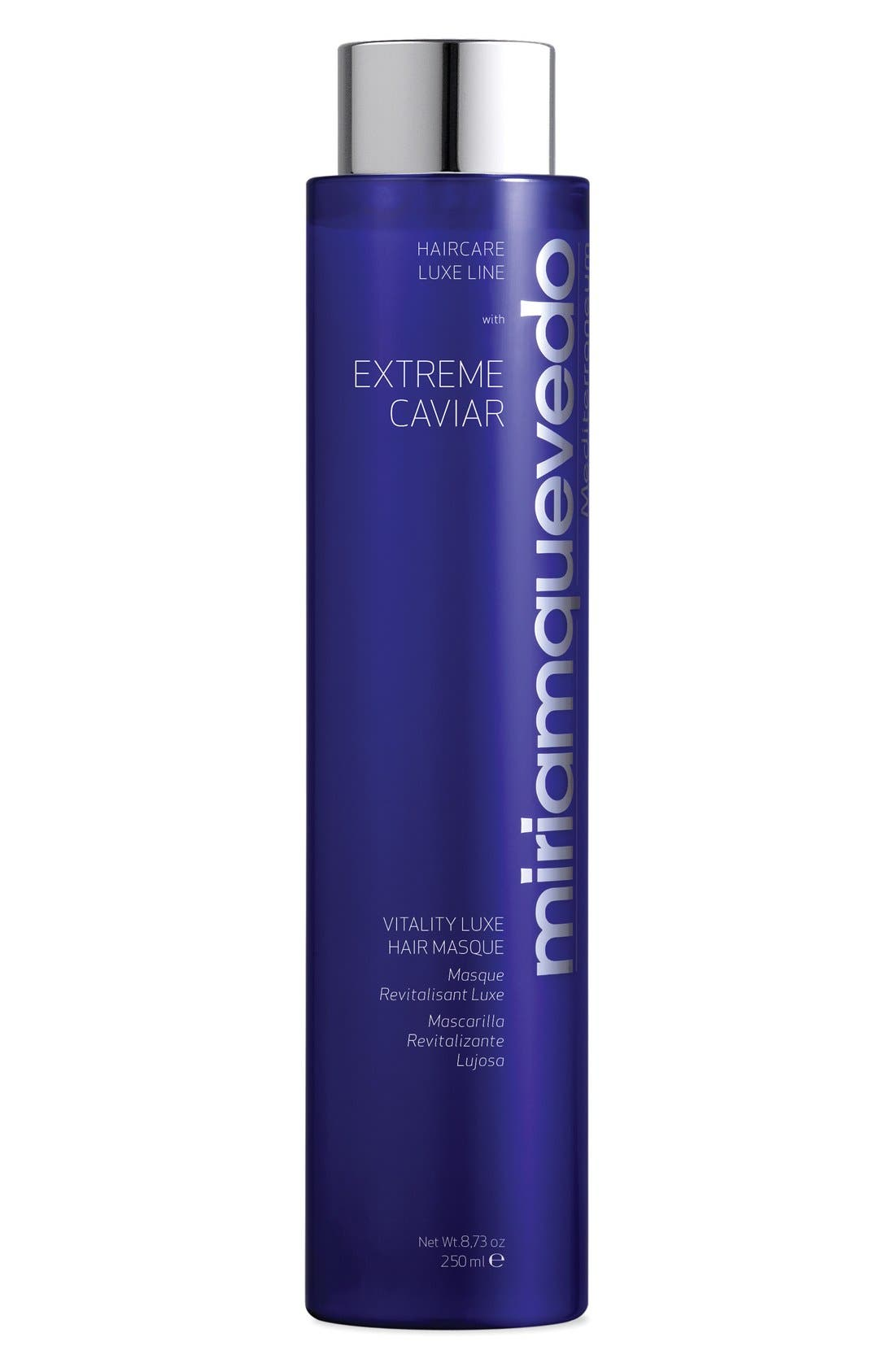 SPACE.NK.apothecary Miriam Quevedo Extreme Caviar Intensive Anti-Aging Luxe Masque,                         Main,                         color, 000