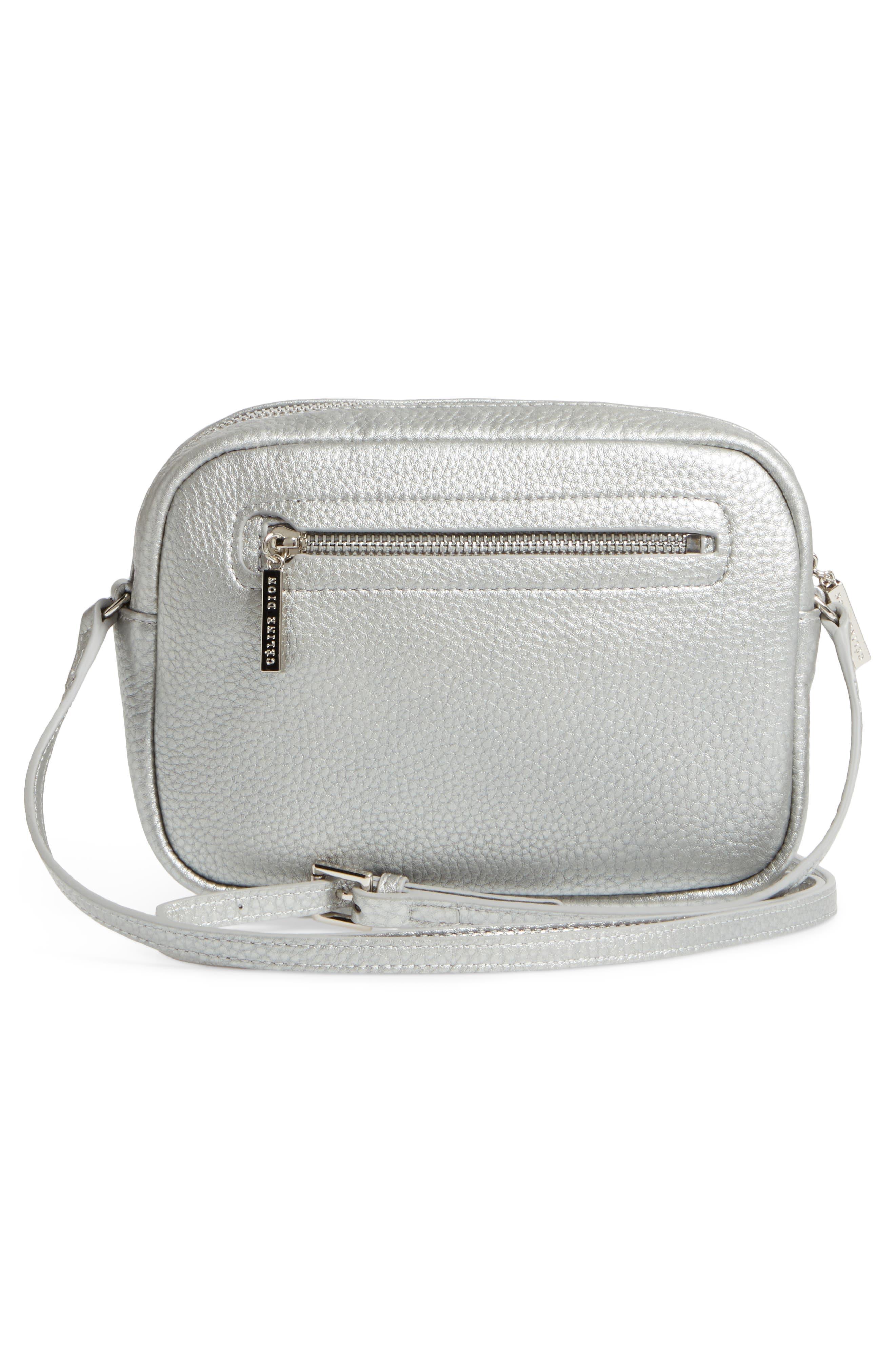Céline Dion Adagio Leather Camera Crossbody Bag,                             Alternate thumbnail 8, color,
