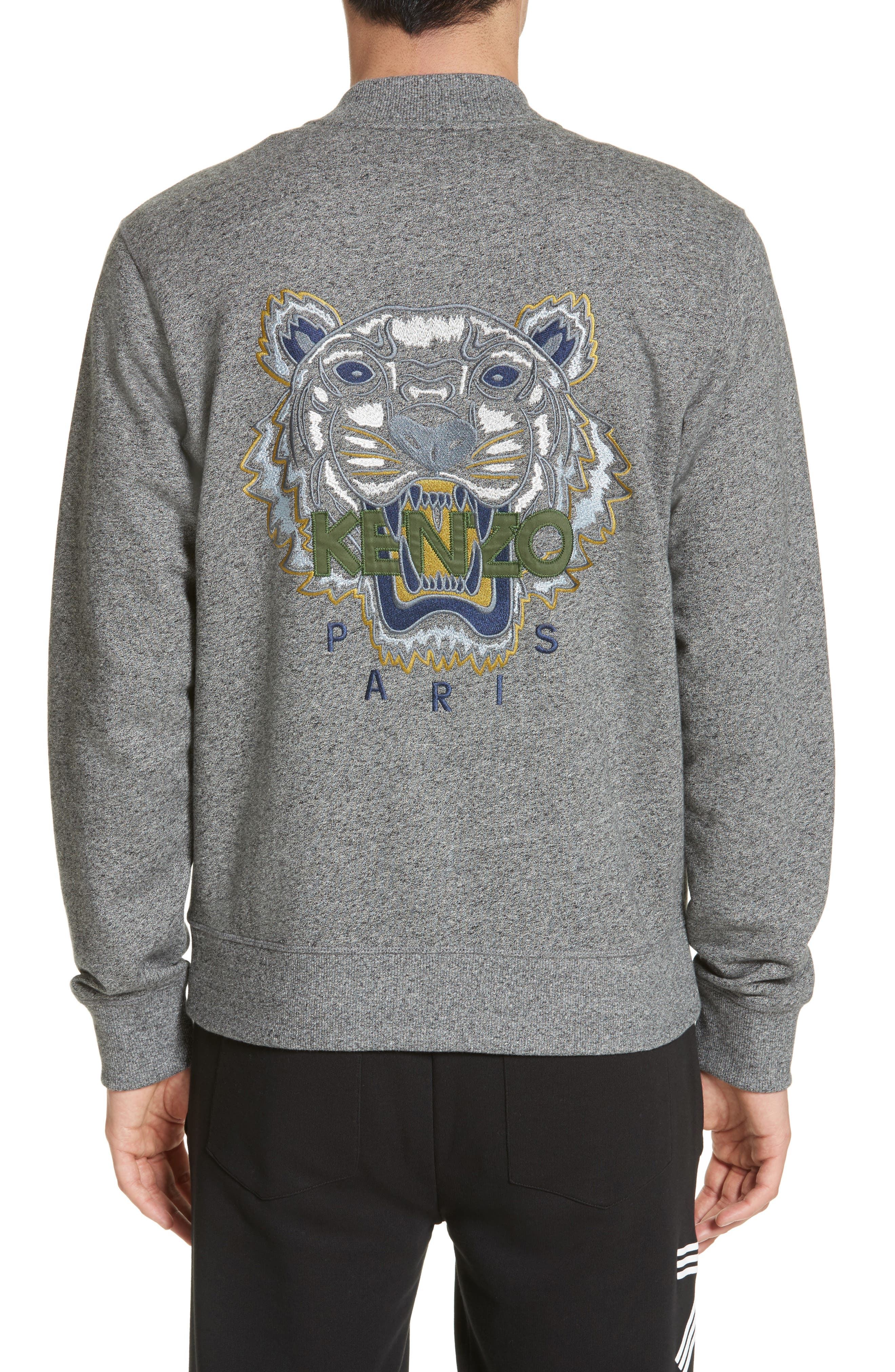 Tiger Teddy Jacket,                             Alternate thumbnail 2, color,                             ANTRACITE