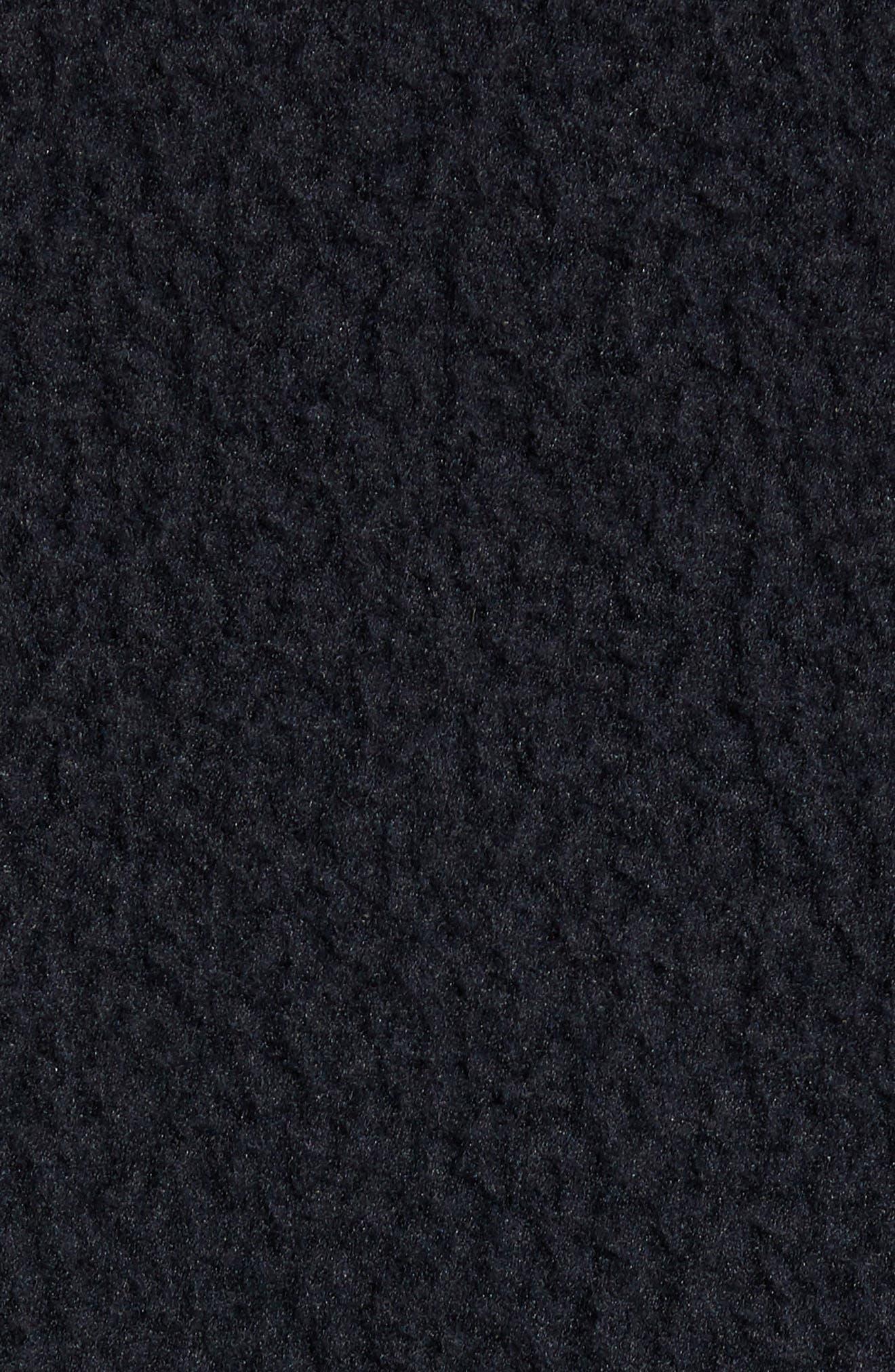 HERSCHEL SUPPLY CO.,                             Tech Fleece Jacket,                             Alternate thumbnail 7, color,                             001