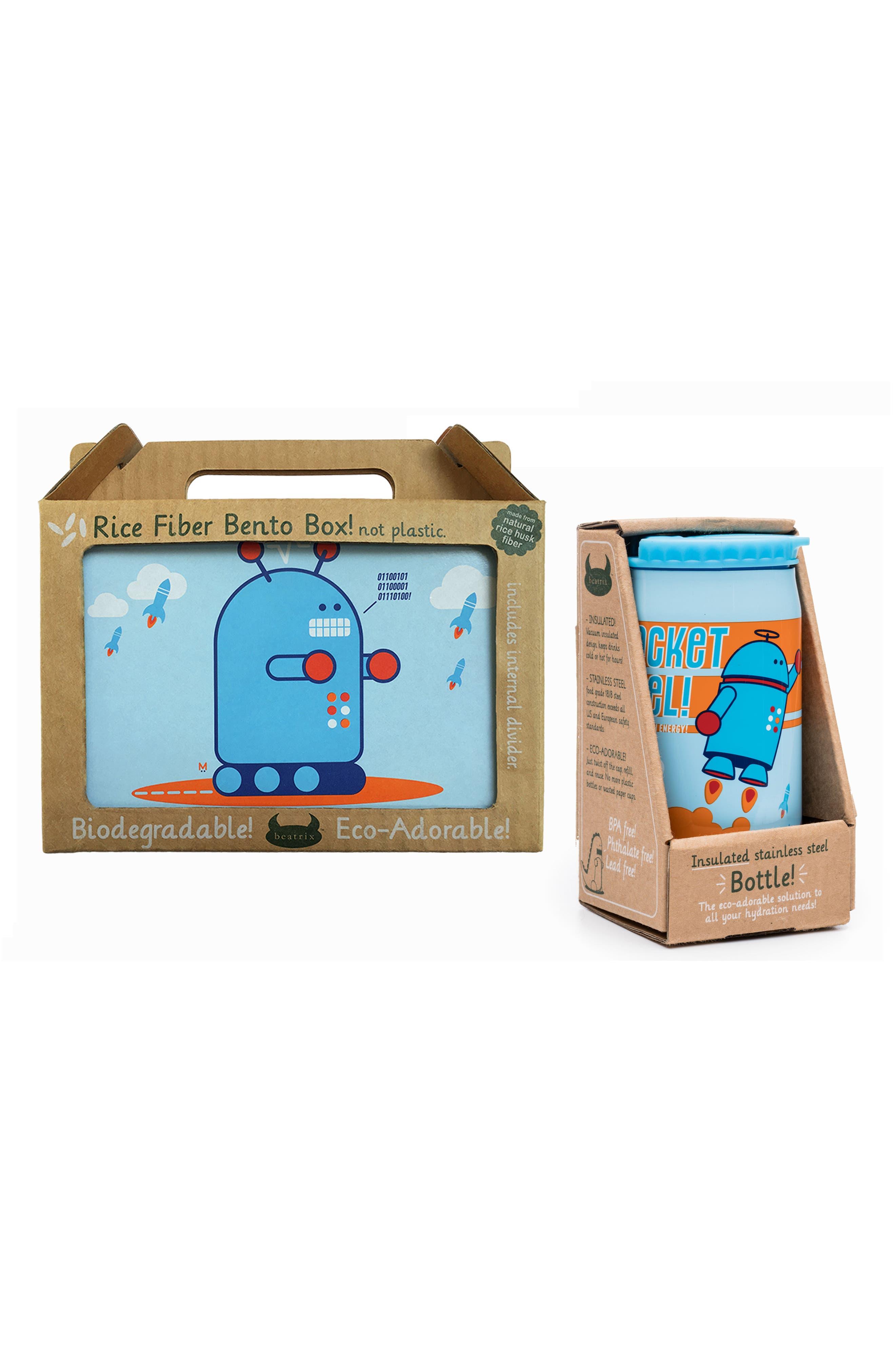 Bento Box & Bottle Set,                             Alternate thumbnail 9, color,