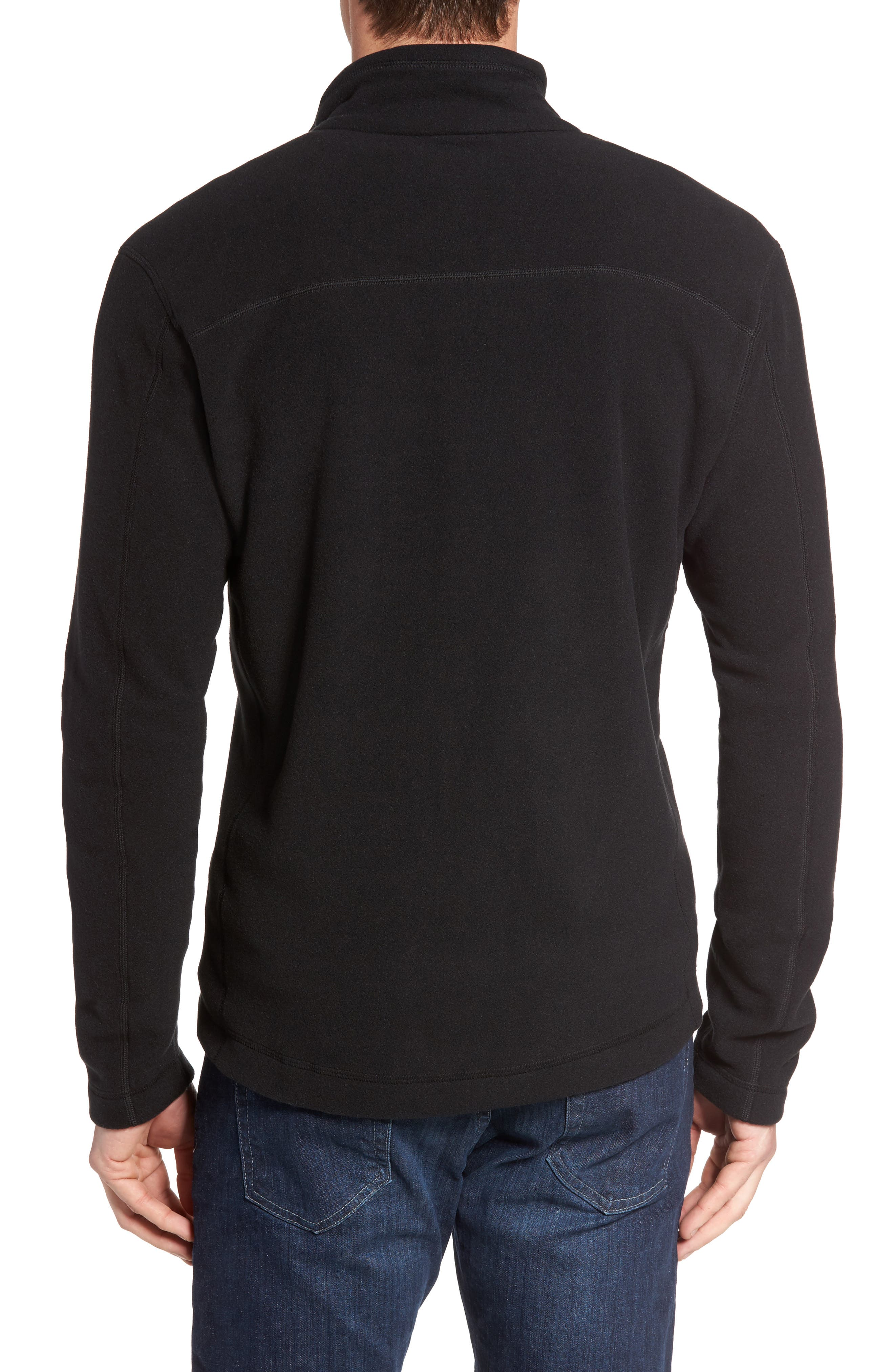 Micro D<sup>®</sup> Fleece Jacket,                             Alternate thumbnail 3, color,                             001