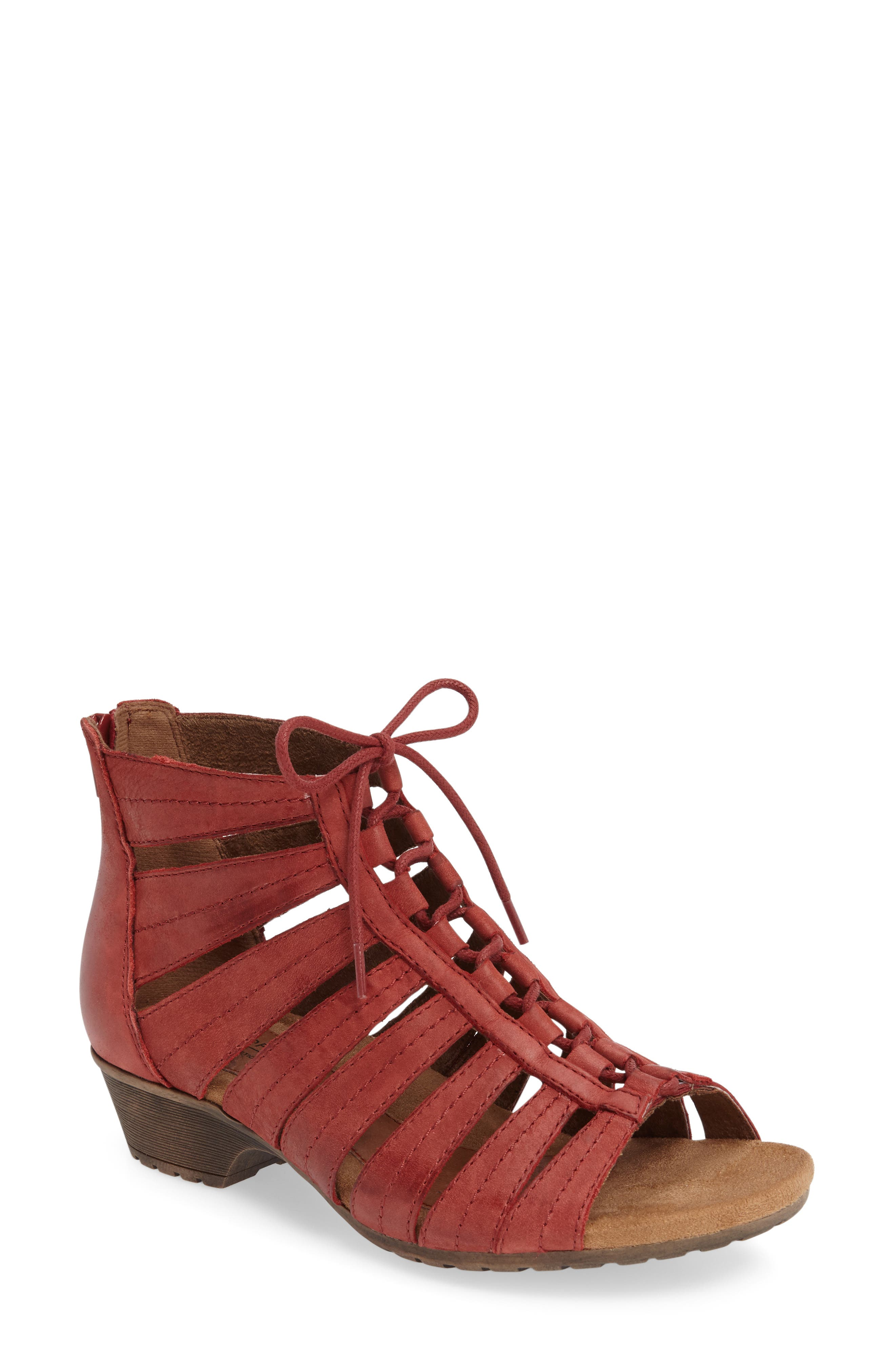 'Gabby' Lace-Up Sandal,                             Main thumbnail 8, color,