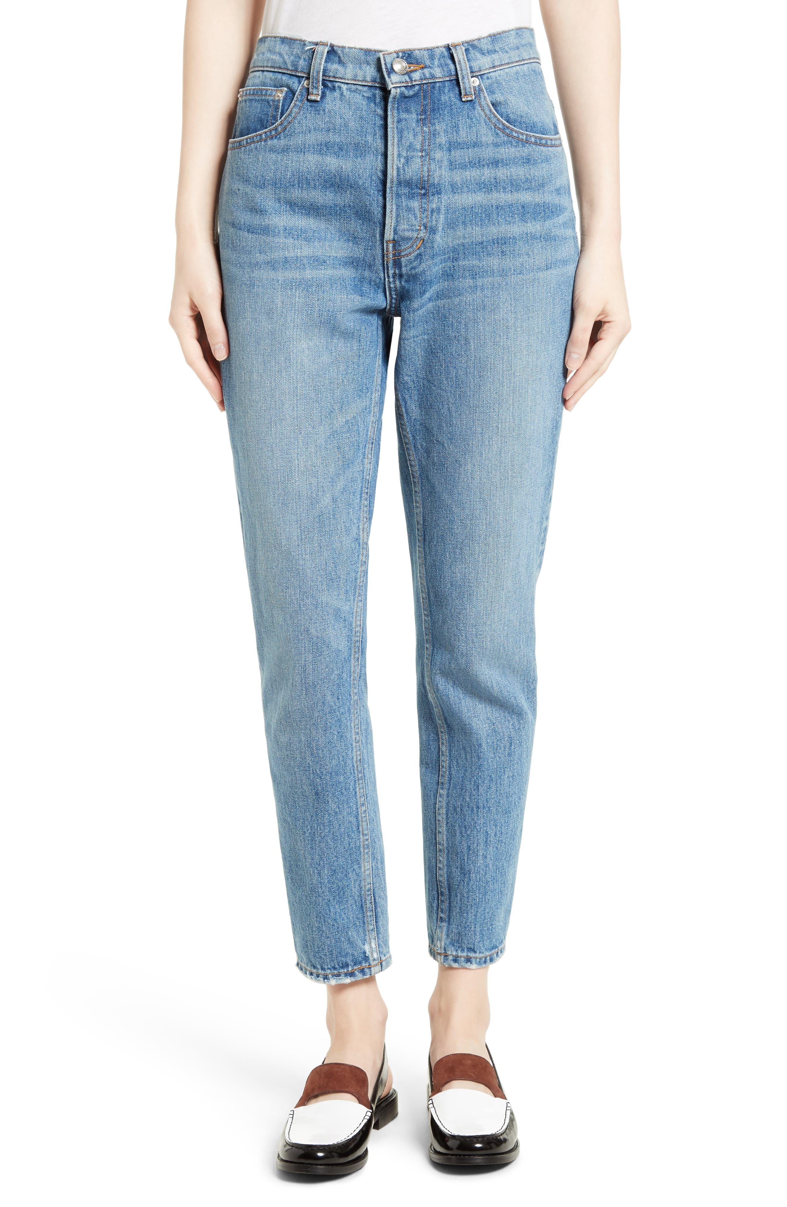 Lou High Waist Jeans,                             Main thumbnail 1, color,                             458
